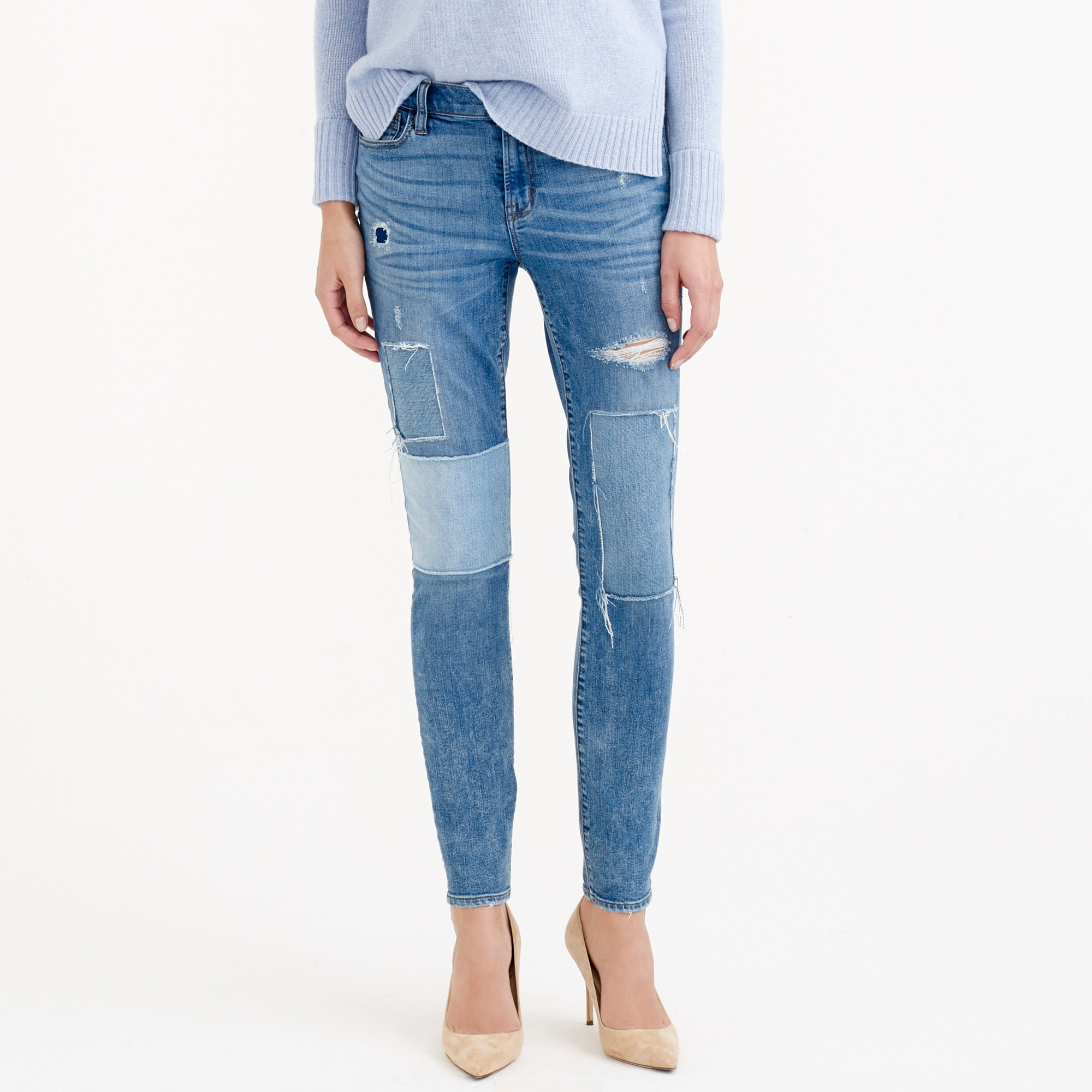 Toothpick jean in Rogers wash