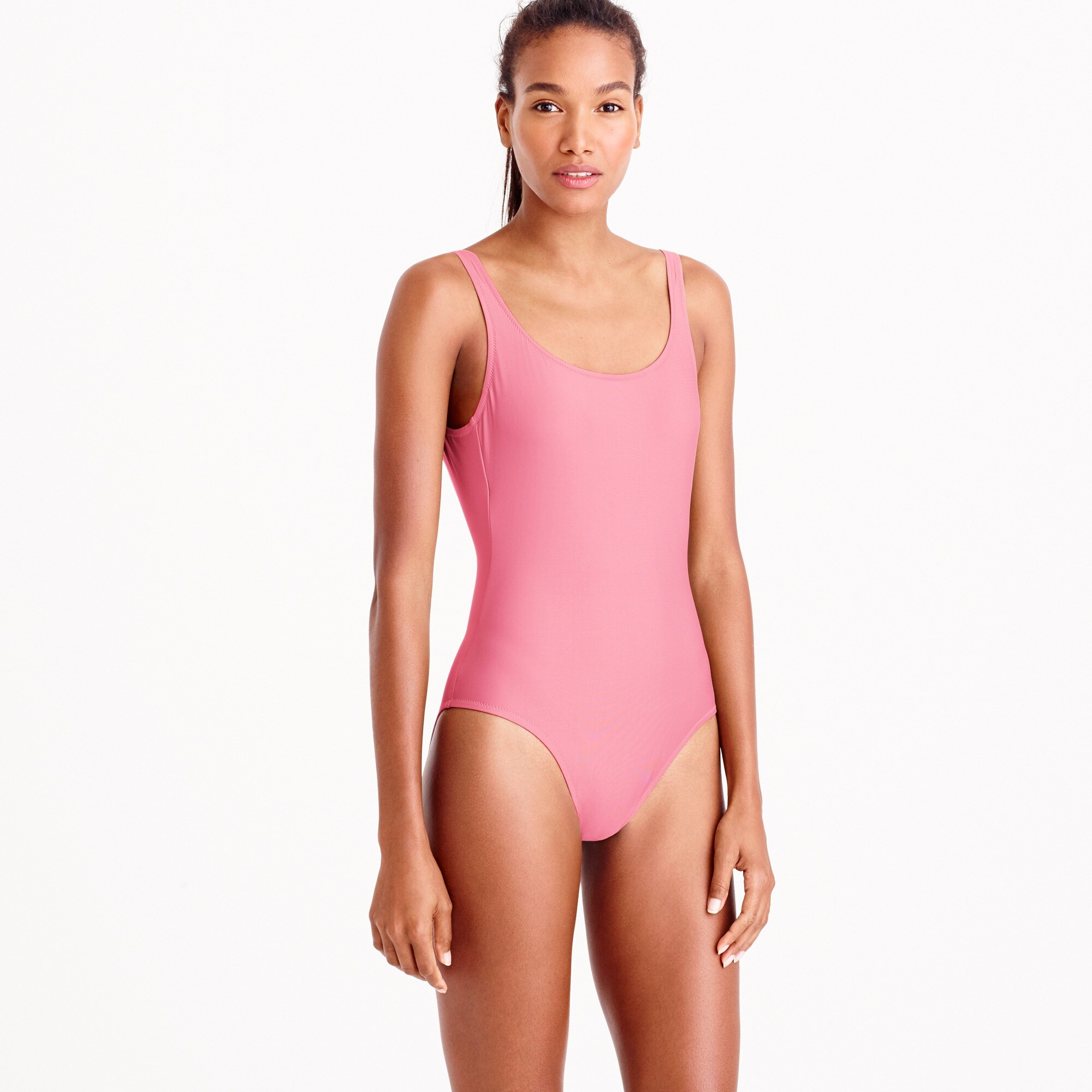 scoopback one-piece swimsuit : women's swim
