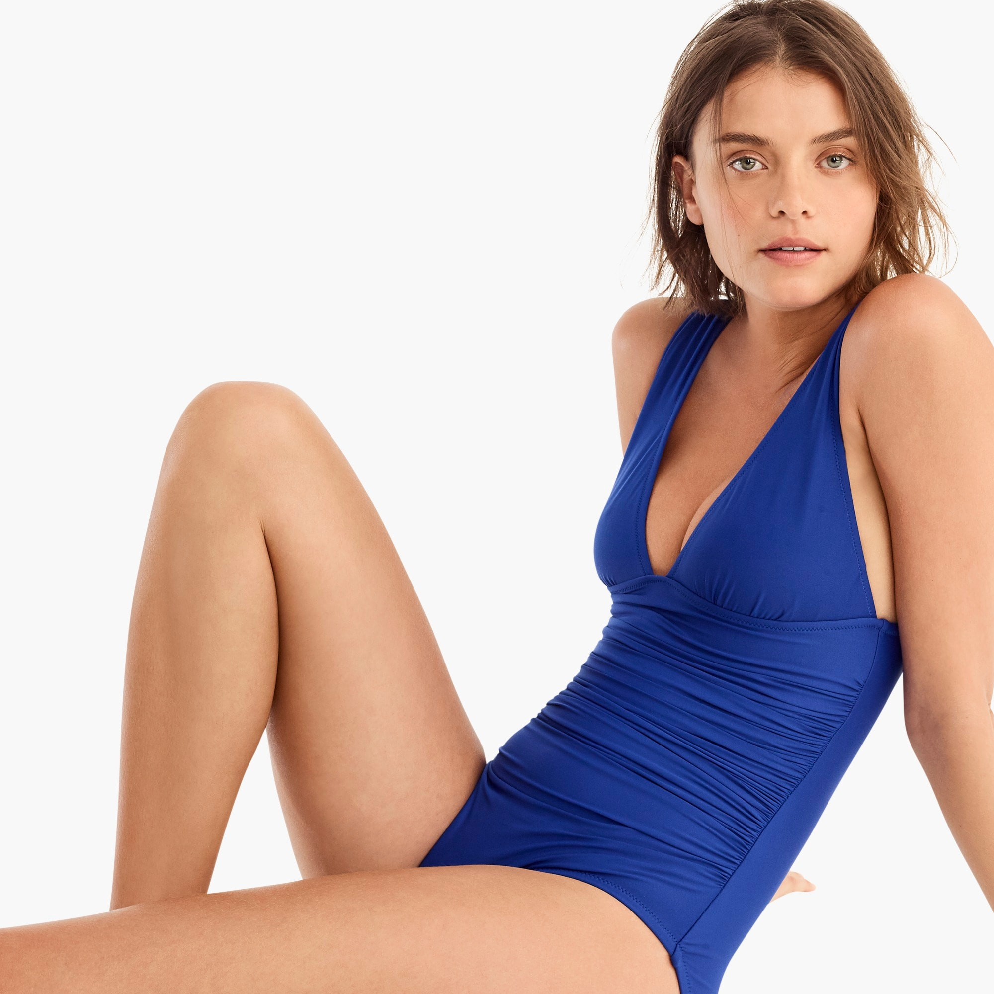 Image 3 for DD-cup ruched femme one-piece swimsuit