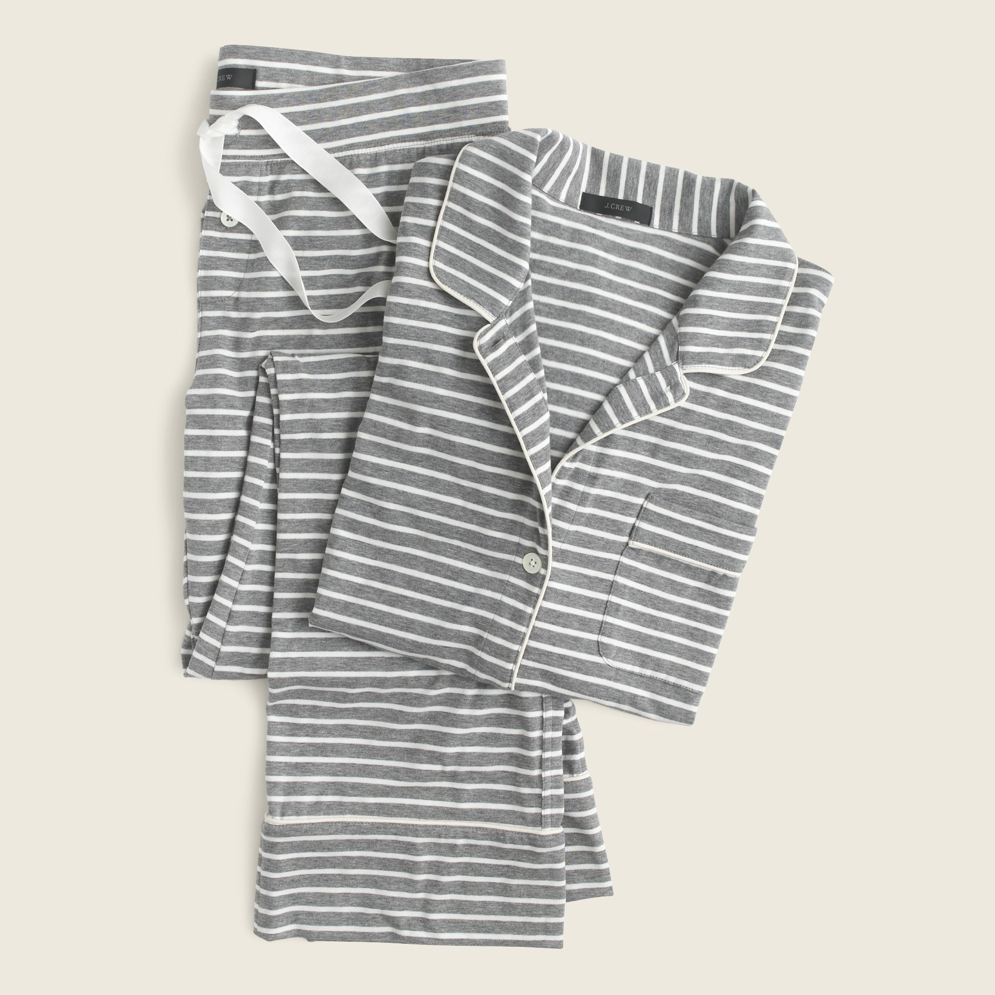 Image 3 for Dreamy cotton pajama set in stripe