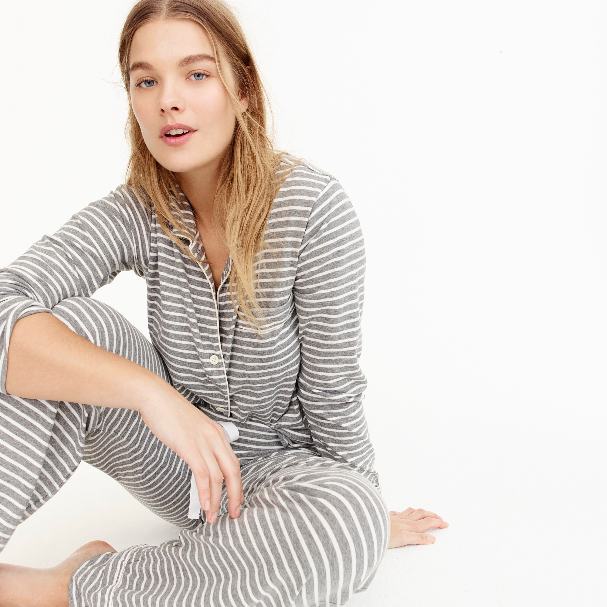 Image 1 for Dreamy cotton pajama set in stripe