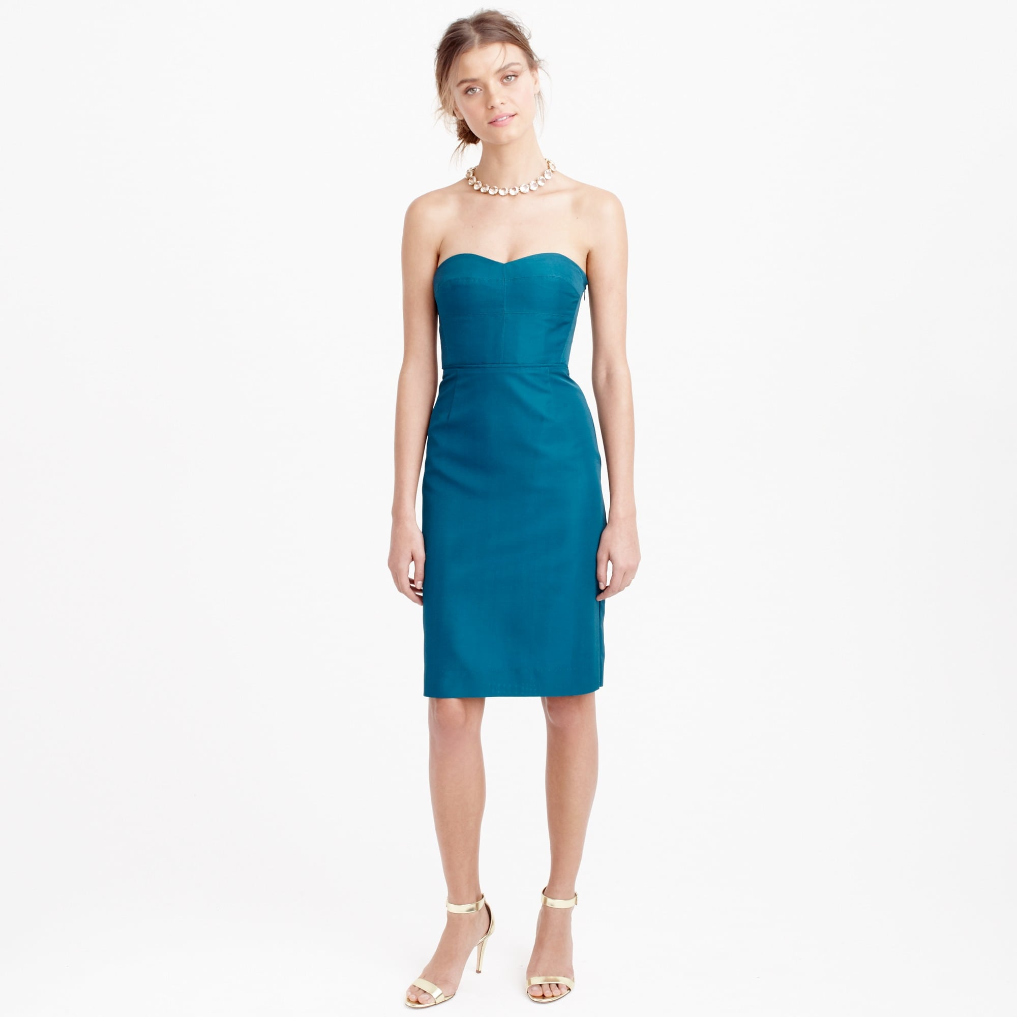Image 1 for Rory strapless dress in classic faille