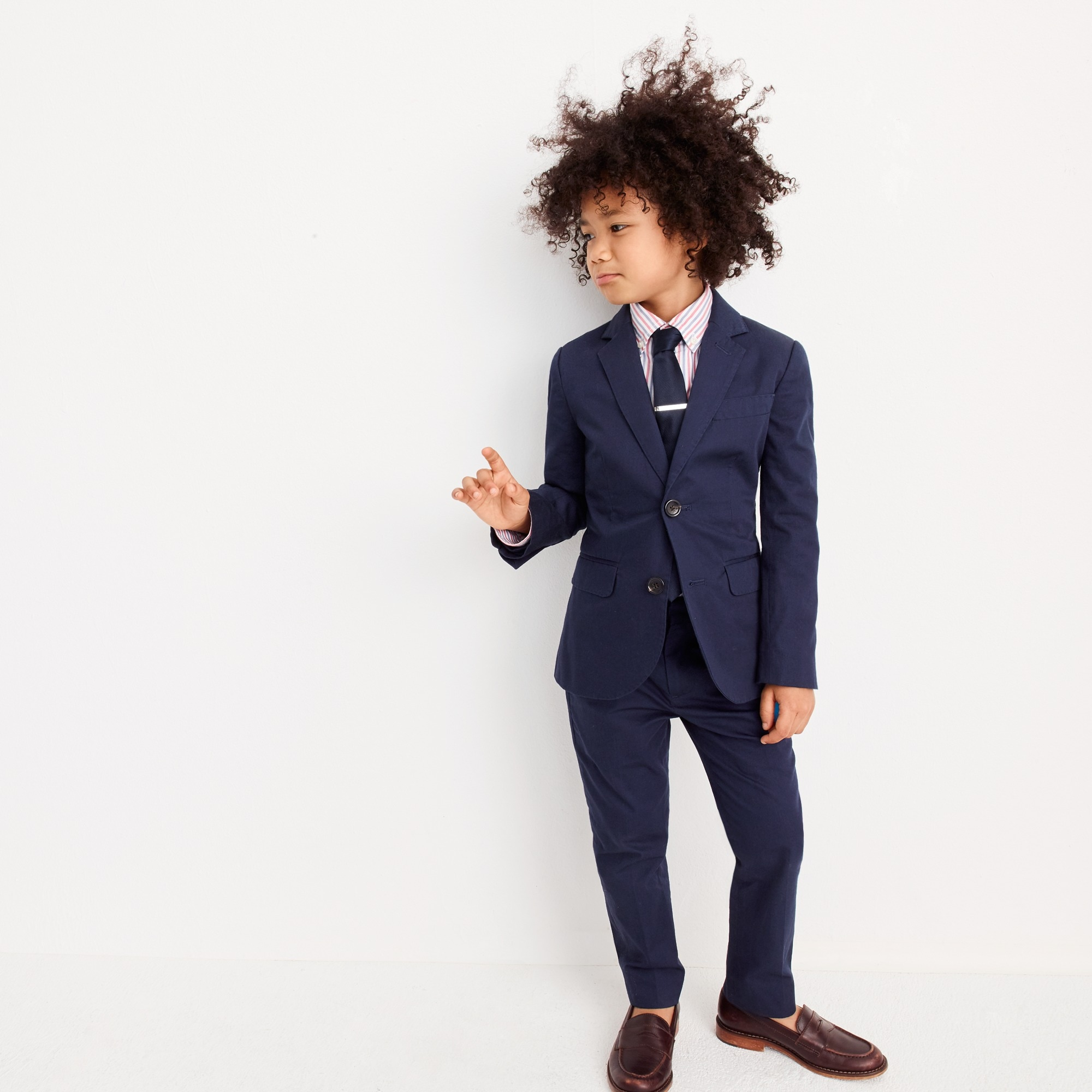 boys' ludlow suit jacket in italian chino : boys' suiting
