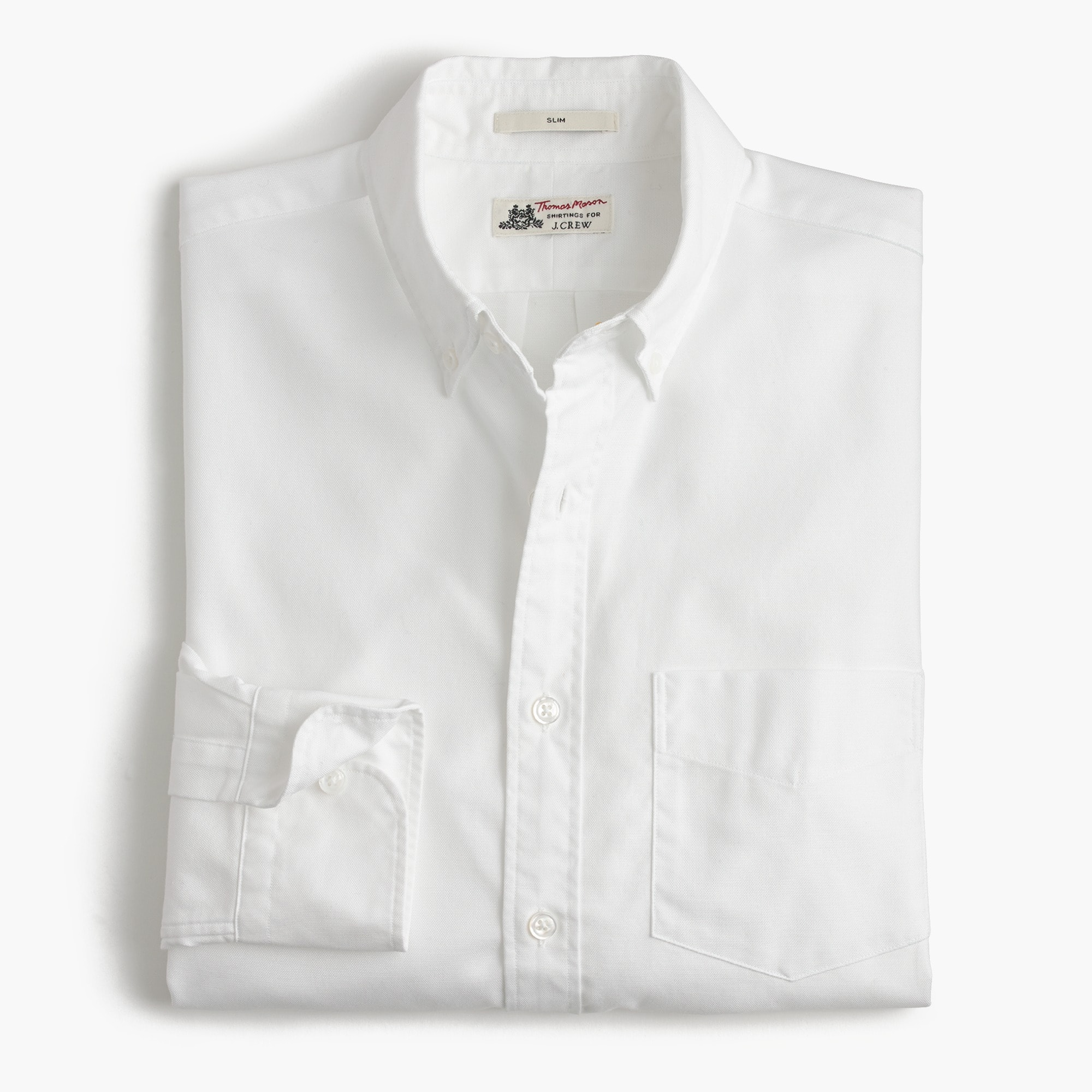 Image 2 for Thomas Mason® for J.Crew Ludlow Slim-fit oxford cloth shirt