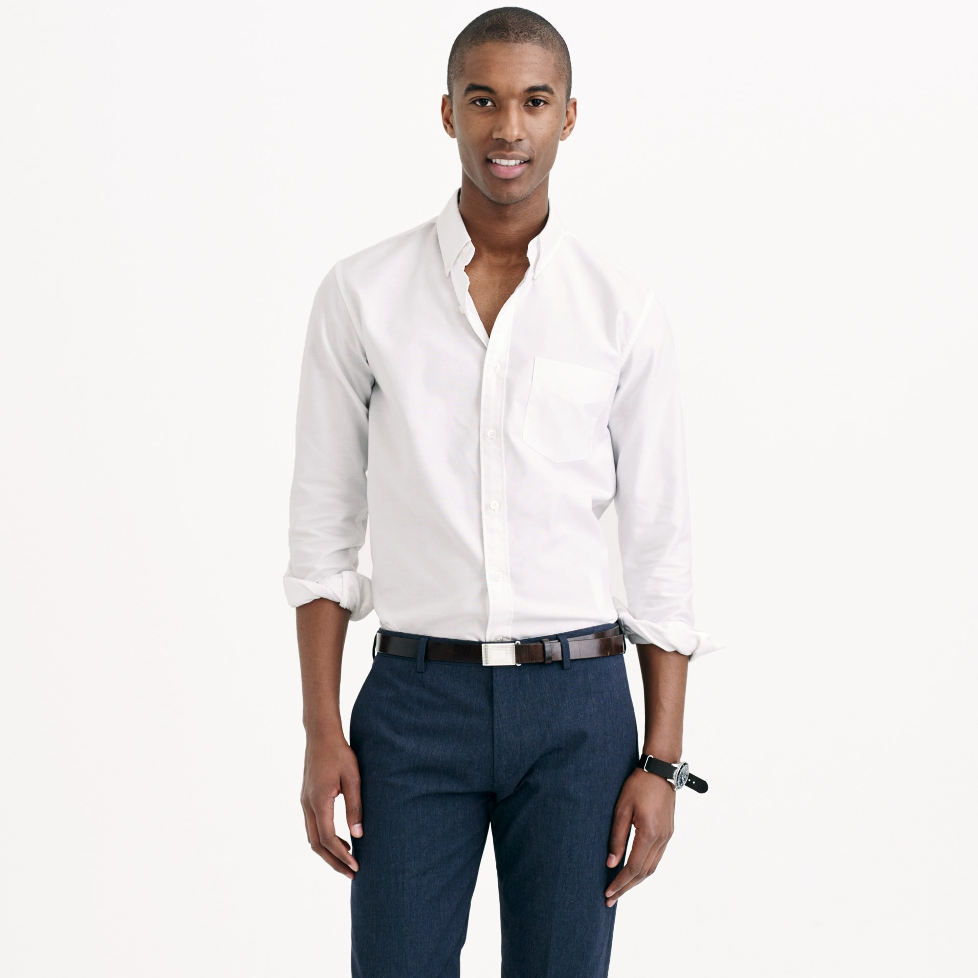 slim thomas mason for j.crew oxford cloth shirt : men's shirts