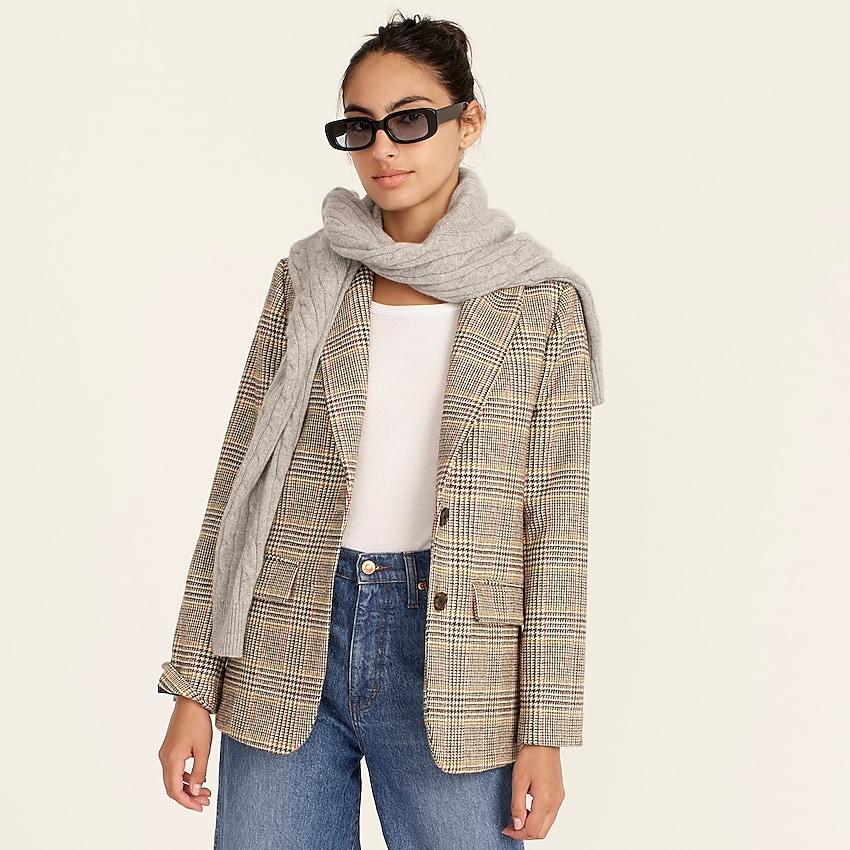 Sommerset blazer in glen plaid English wool | J.Crew US