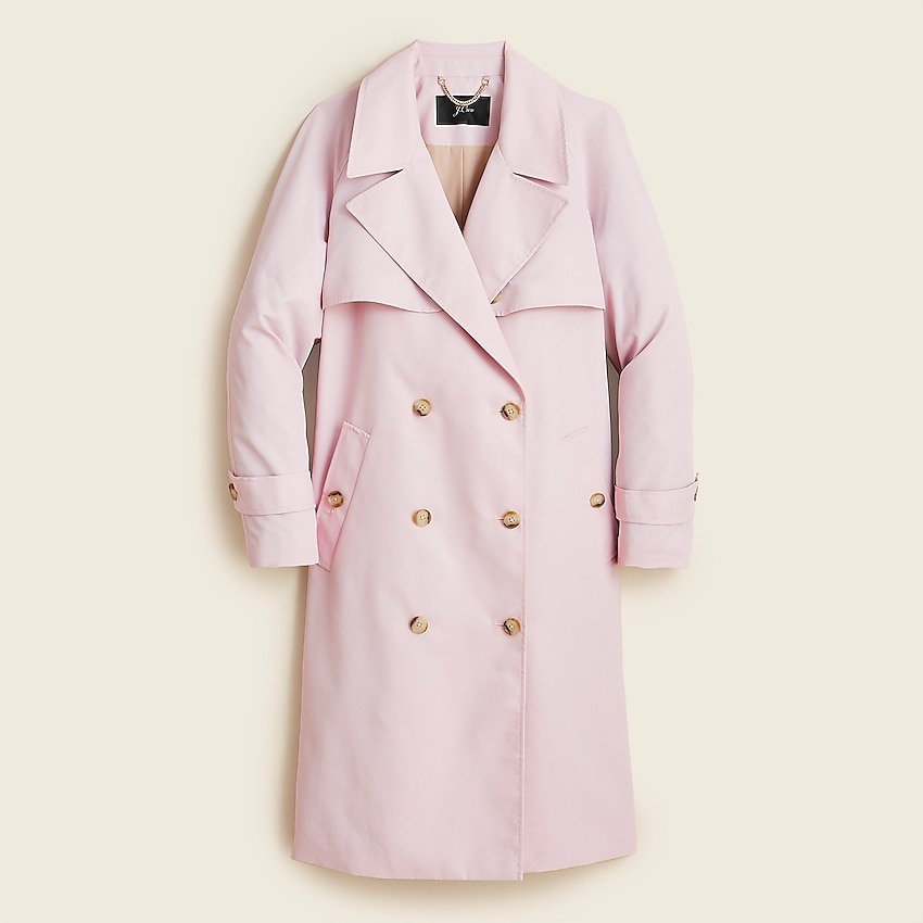 Relaxed trench coat in nylon | J.Crew US
