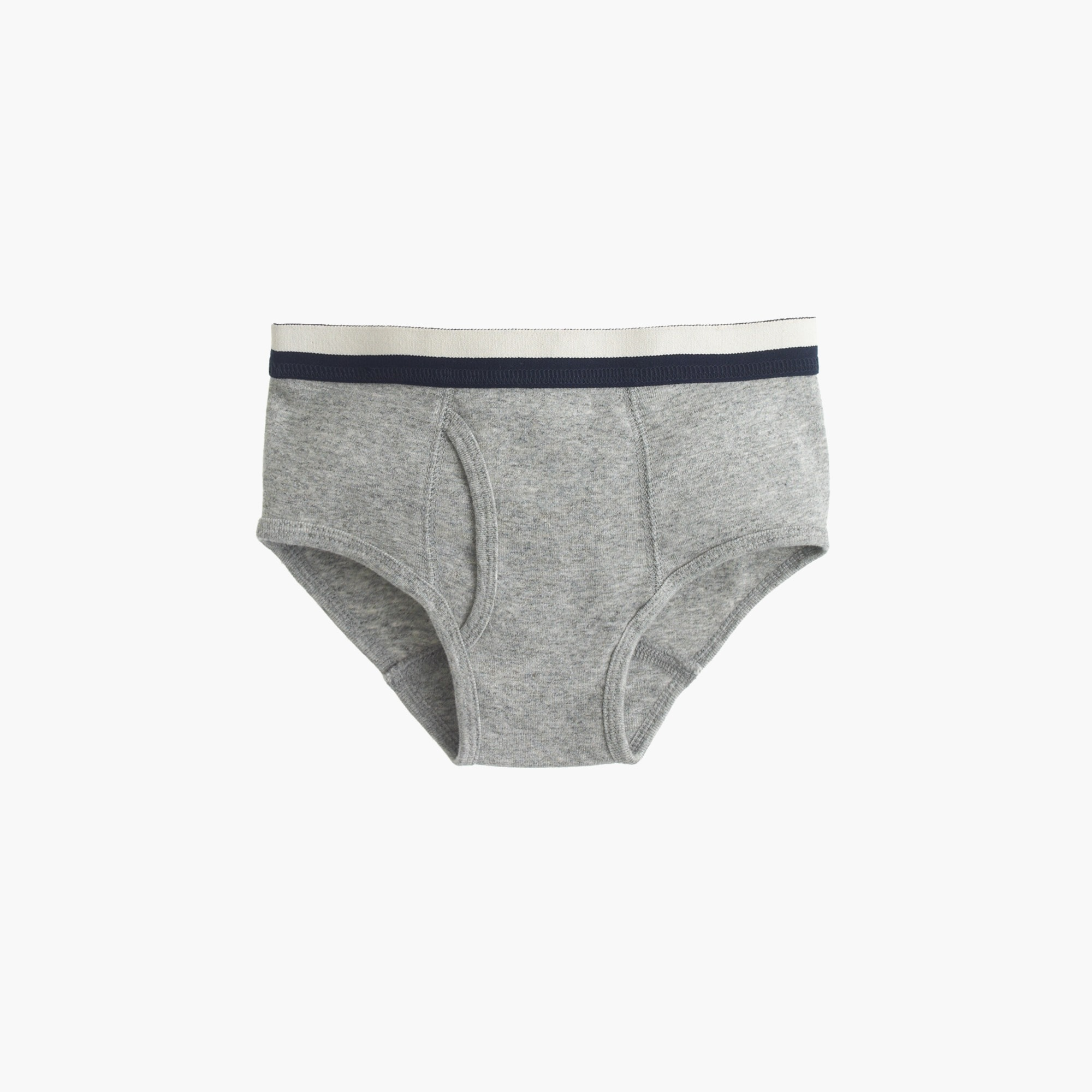 Boys' knit briefs in granite
