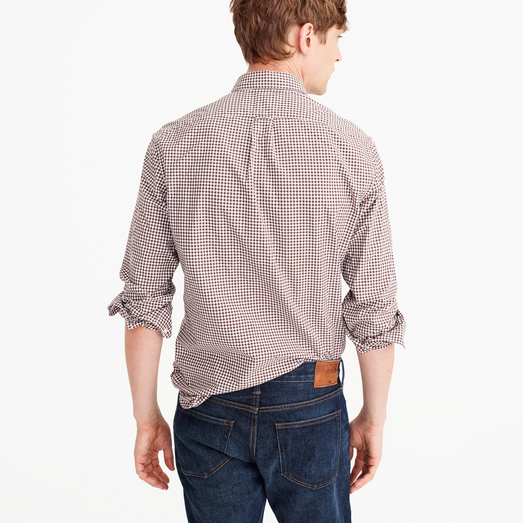Image 4 for Tall Secret Wash shirt in classic gingham