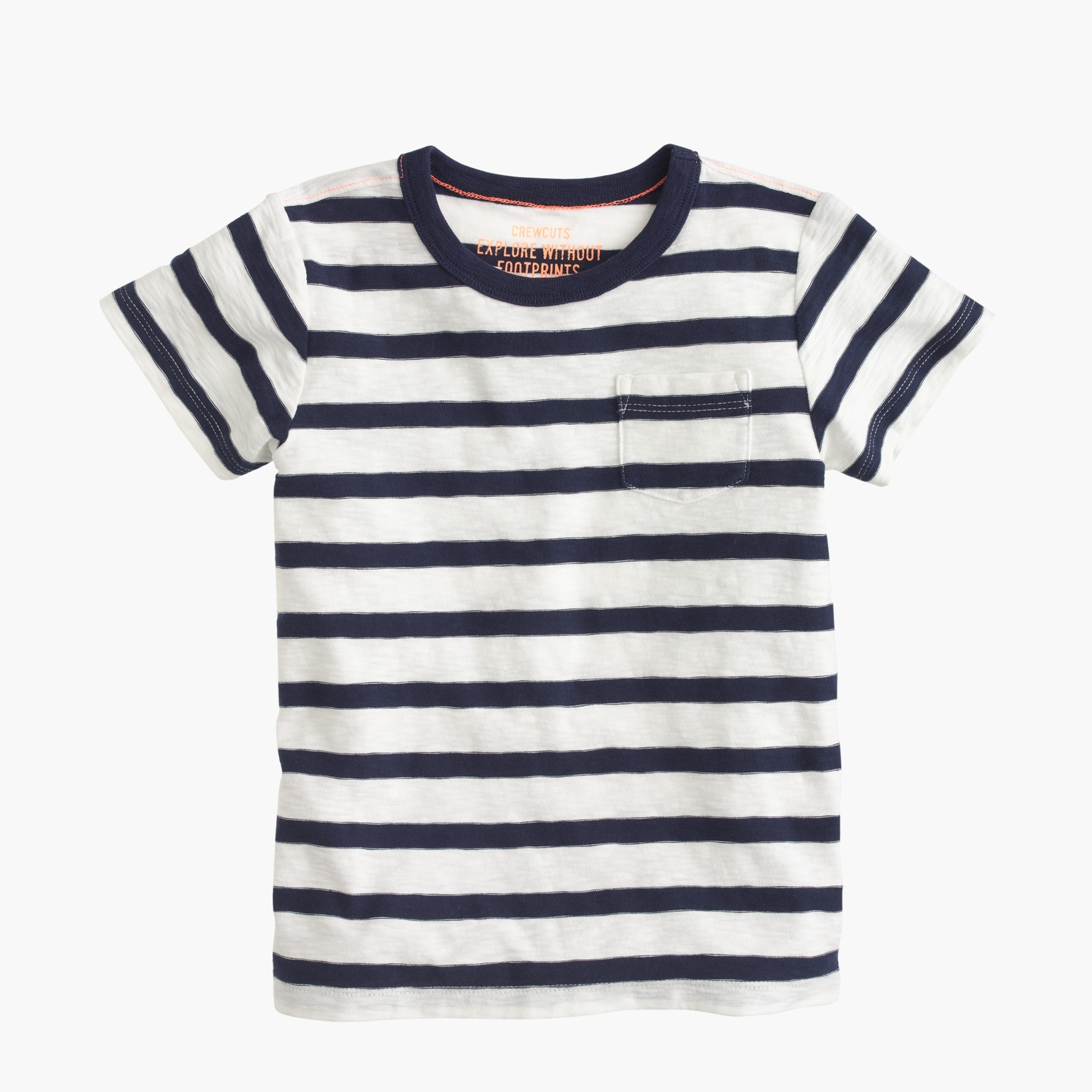 Boys' T-shirt in classic stripe