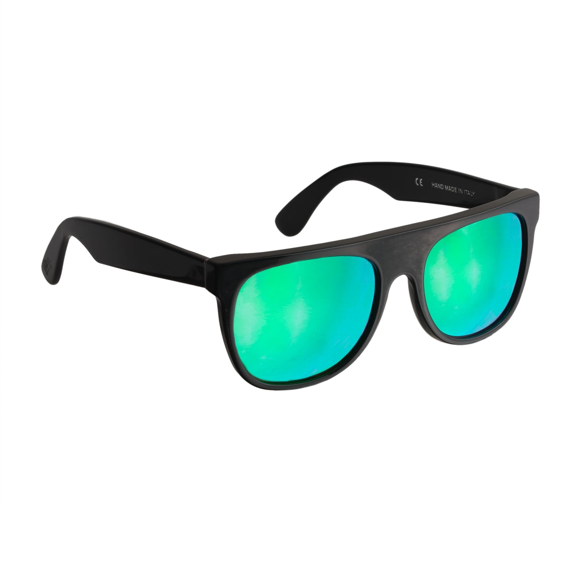 Image 2 for Super™ Mirrored Cove Flat Top Sunglasses
