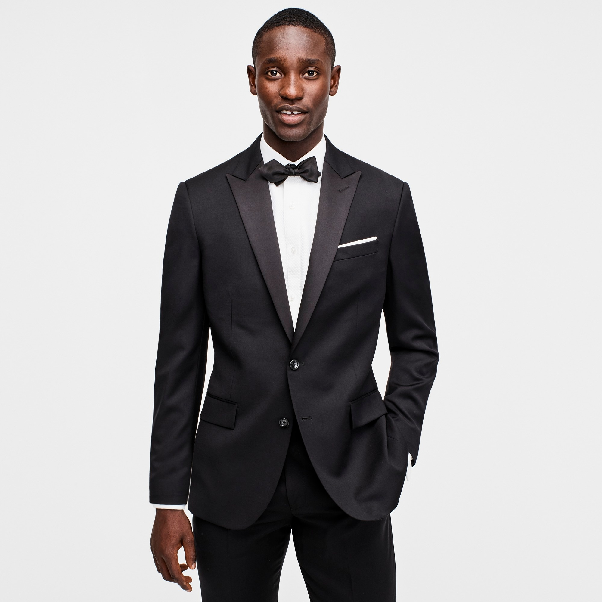 men's crosby tuxedo jacket in italian wool - men's suiting