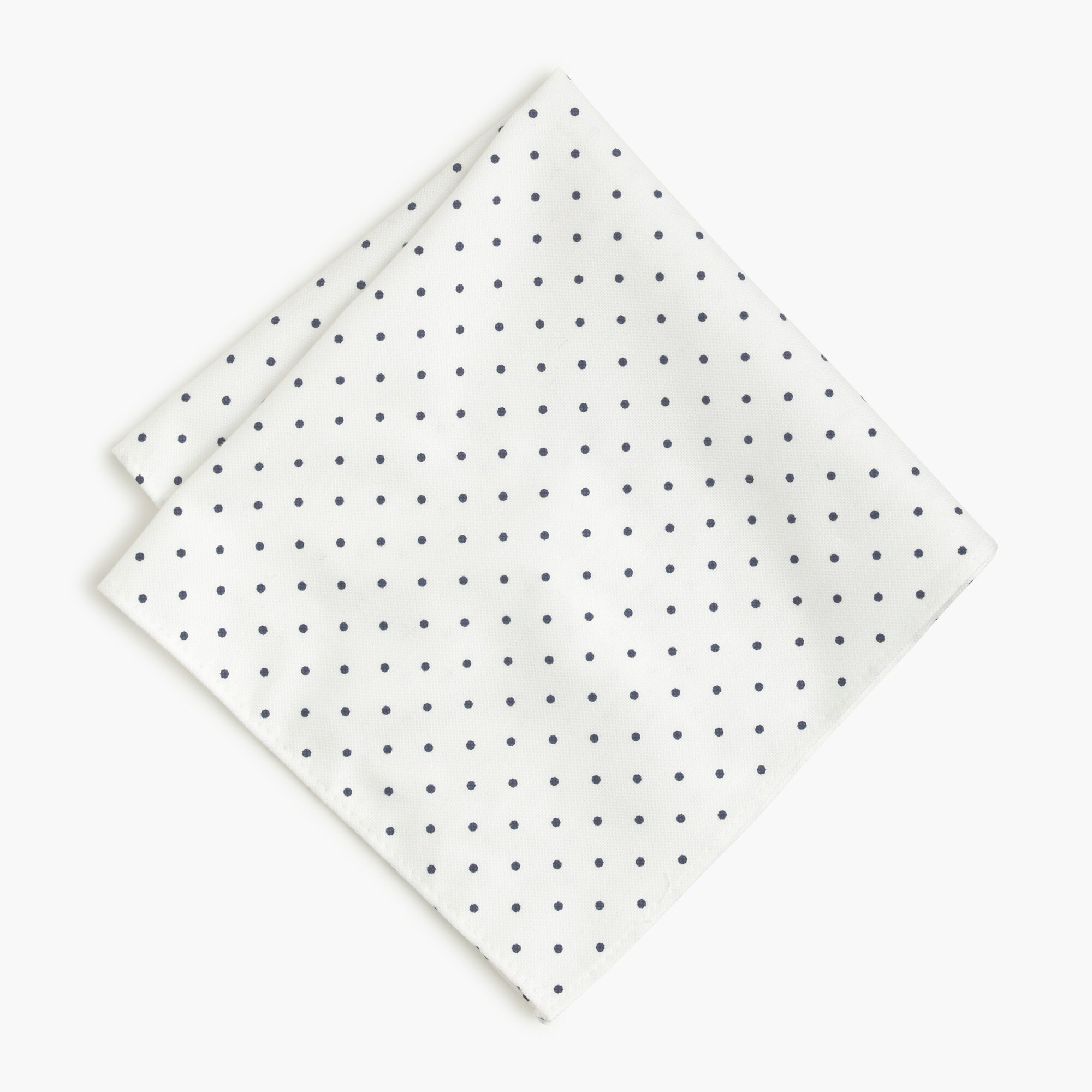 Image 1 for Cotton pocket square in large dot