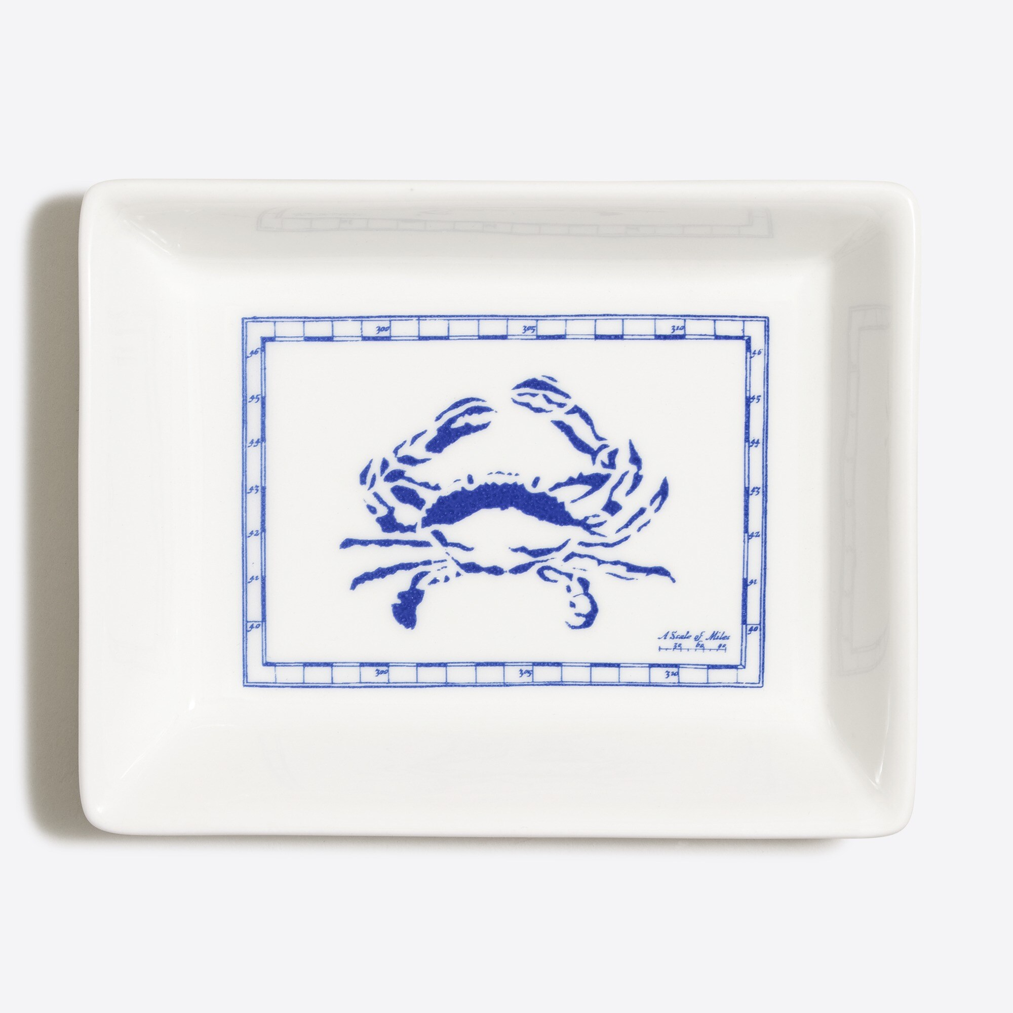 ceramic tray : men barware