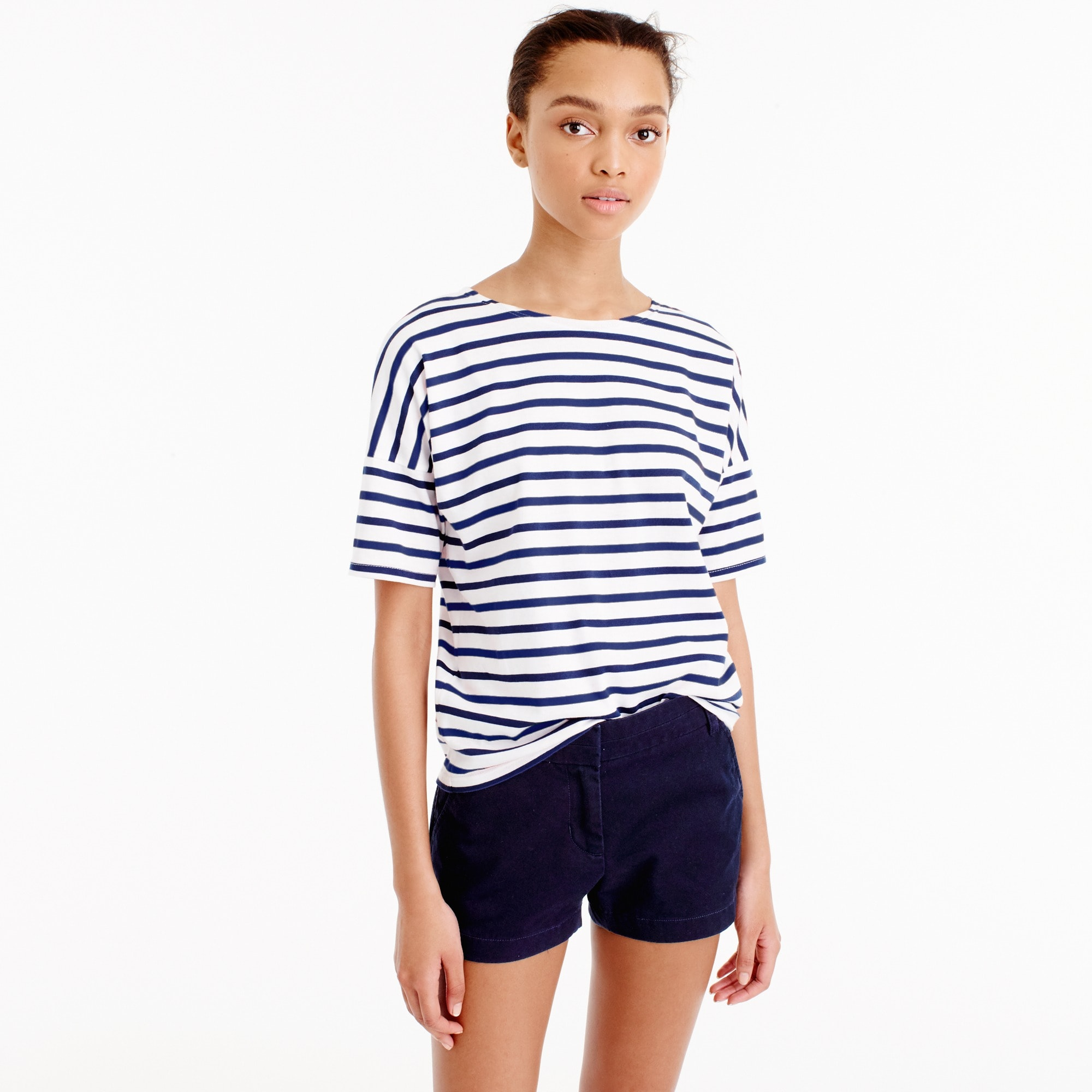 Saint James® for J.Crew short-sleeve slouchy T-shirt