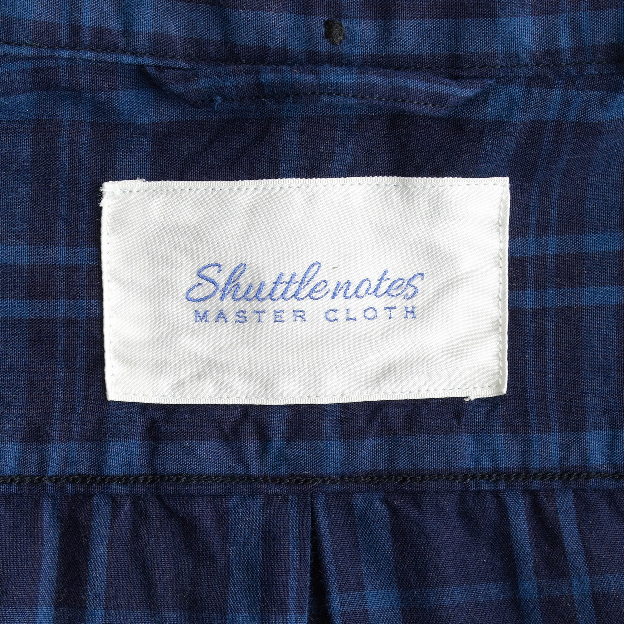 Image 3 for Shuttle Notes® indigo poplin shirt