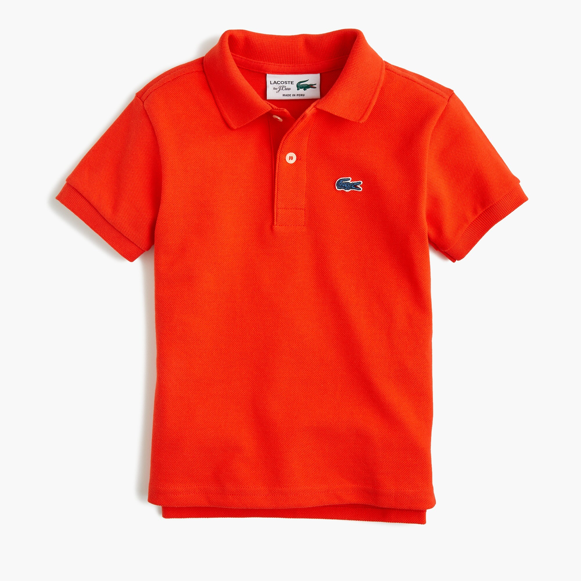 Kids' Lacoste® for J.Crew polo shirt girl j.crew in good company c