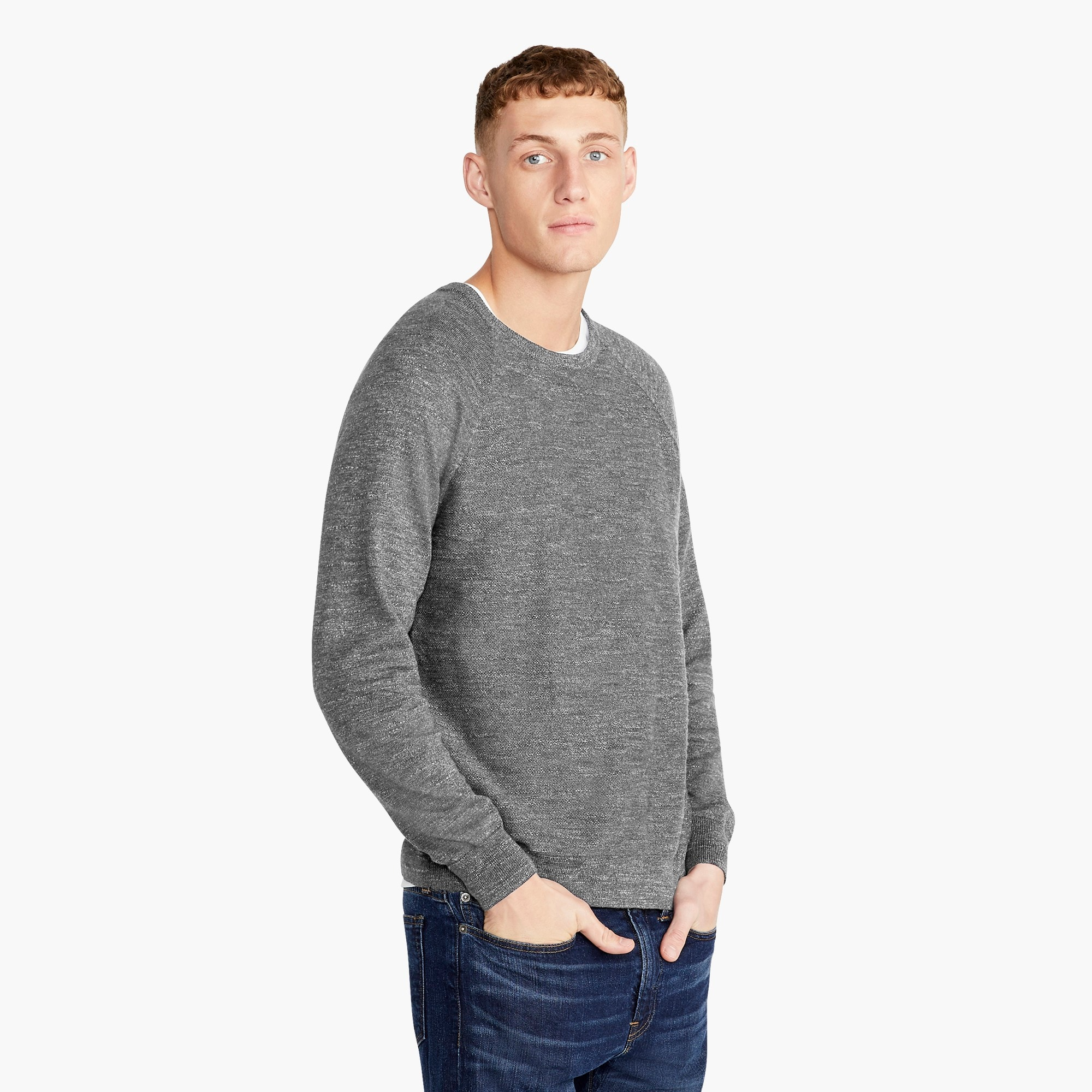 mens Rugged cotton sweater