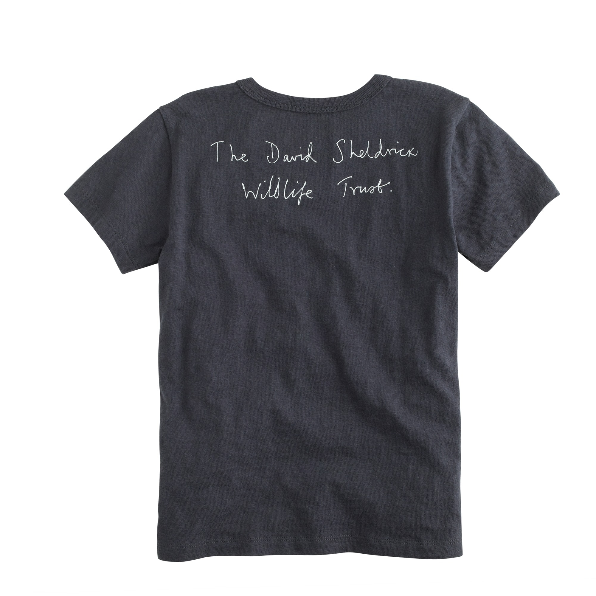 Kids' crewcuts for David Sheldrick Wildlife Trust Save More Elephants T-shirt