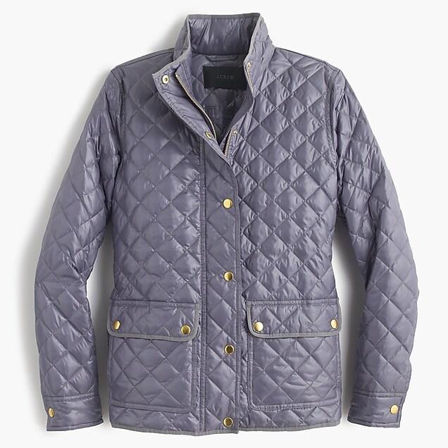 a8689e5f4921 Shiny downtown field puffer jacket     J.Crew