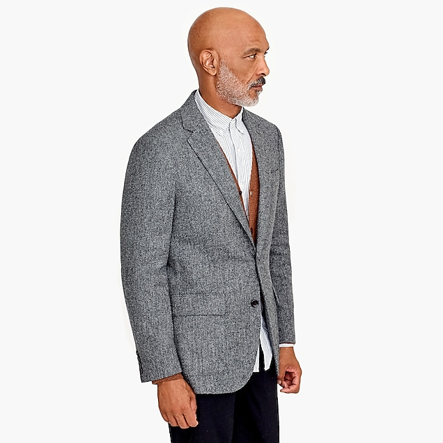 Ludlow blazer in herringbone English tweed : Men blazer2 | J.Crew