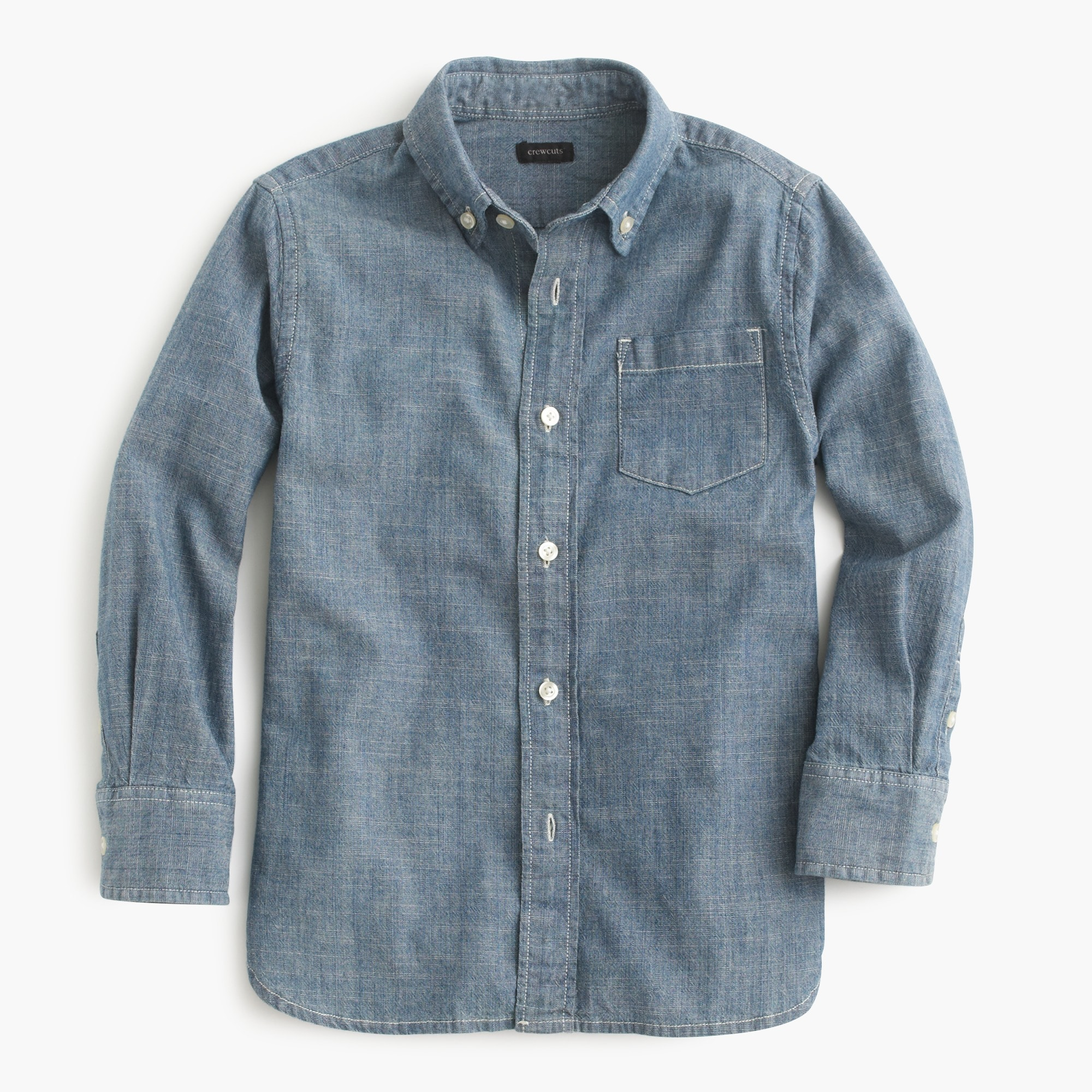 Kids' chambray shirt boy shirts c