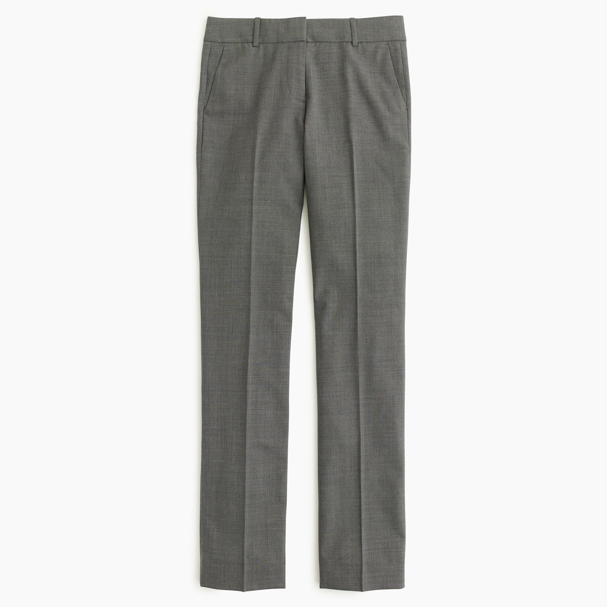 Petite Campbell trouser in Italian stretch wool