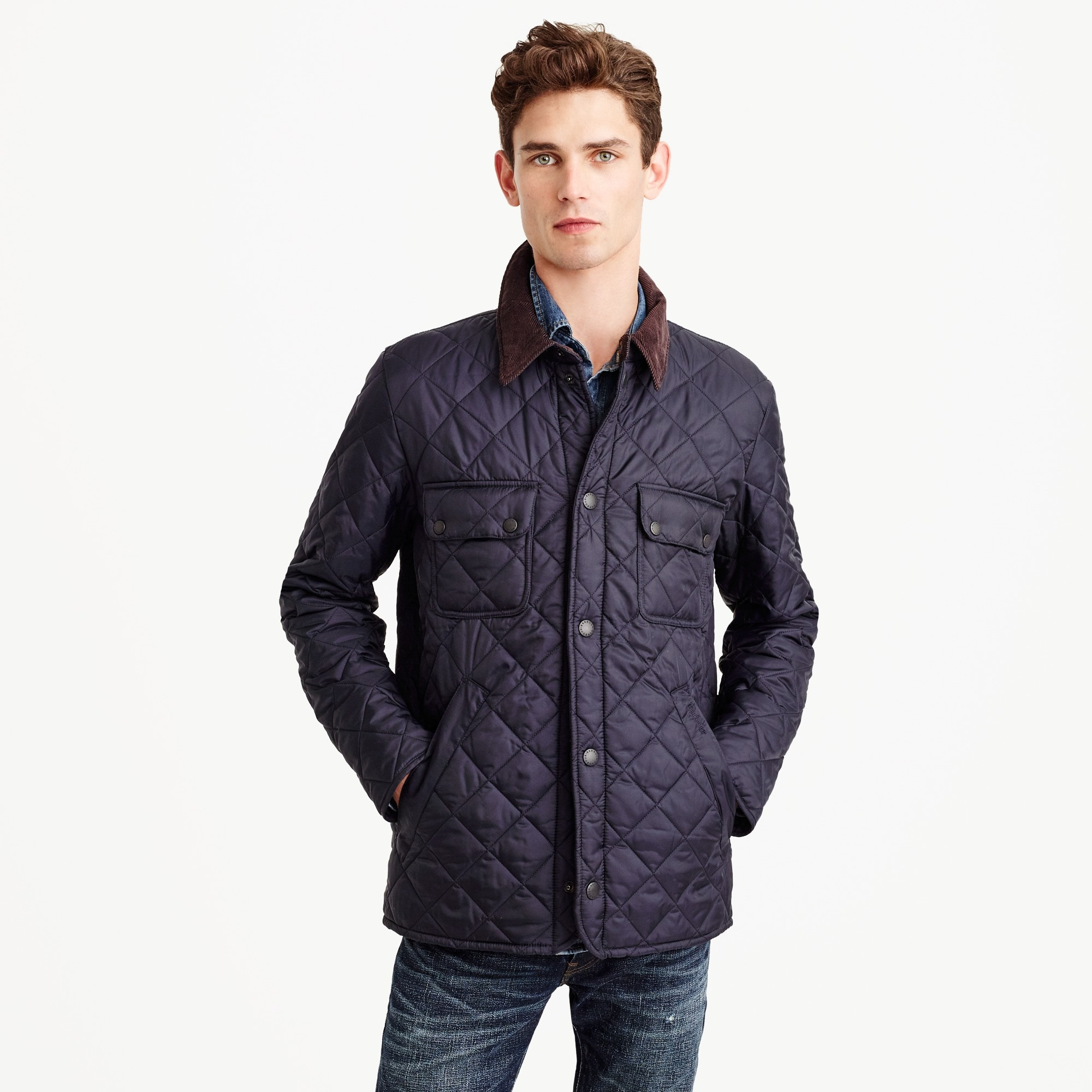 Barbour® tinford jacket men j.crew in good company c