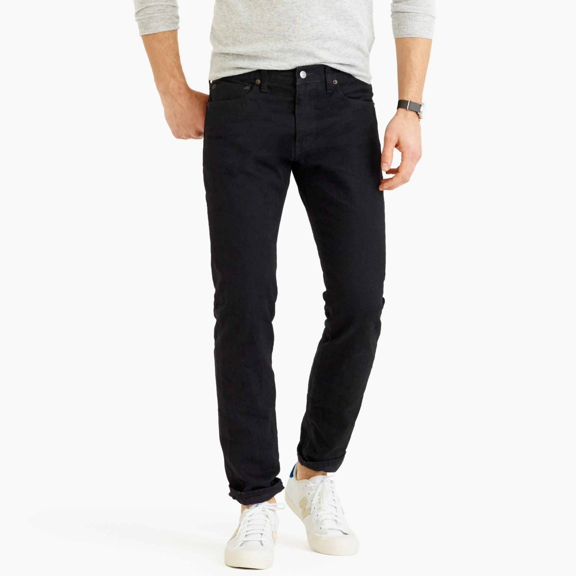 Image 1 for 484 Slim-fit jean in Barnet black wash