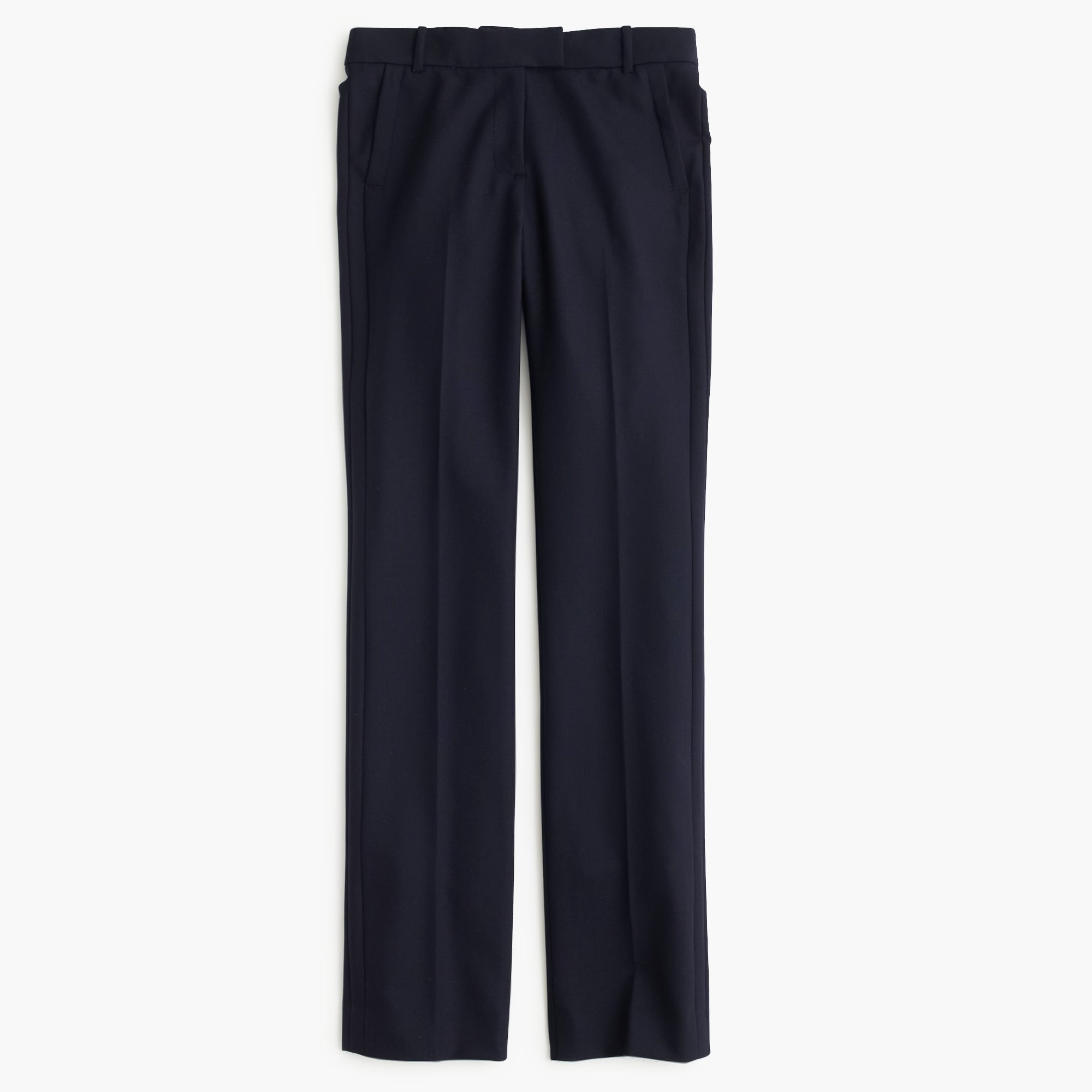 Petite Campbell trouser in two-way stretch wool