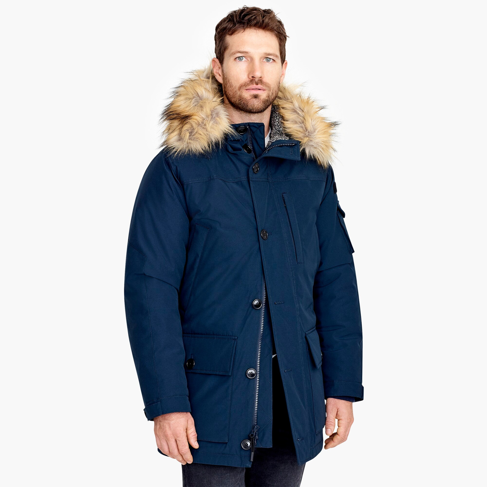 Nordic down parka with Primaloft®
