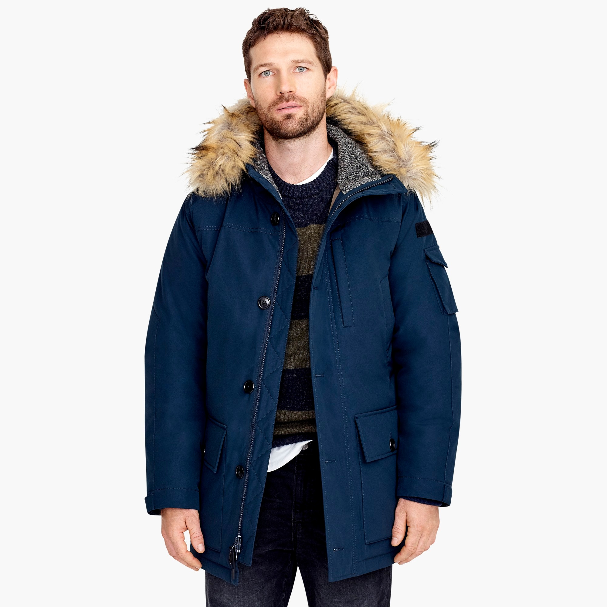 Nordic down parka men coats & jackets c