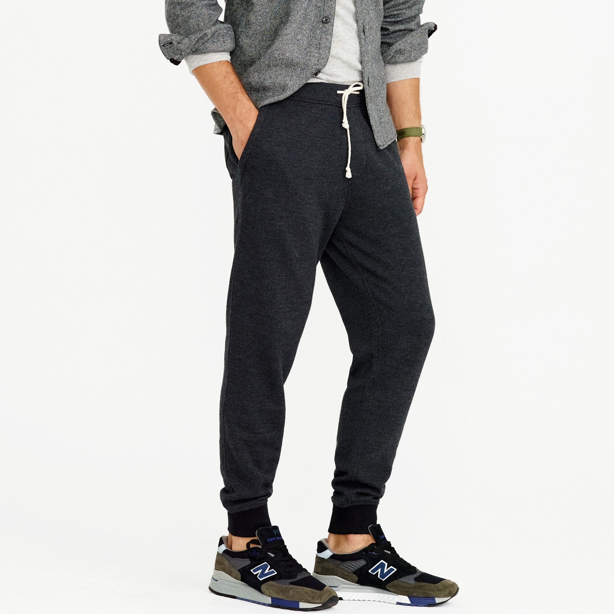 Image 3 for Classic zip-pocket sweatpant