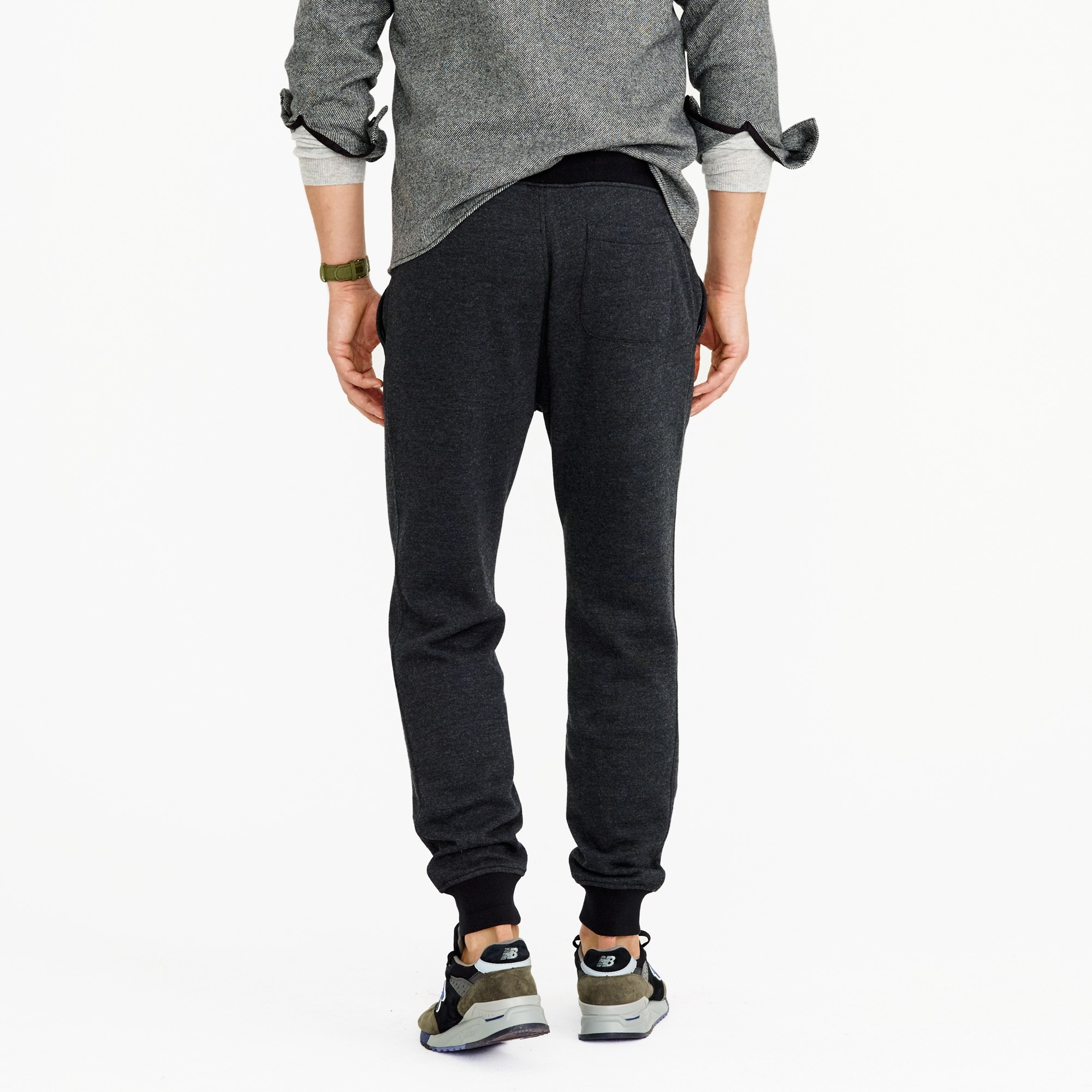 Image 4 for Tall classic zip-pocket sweatpant