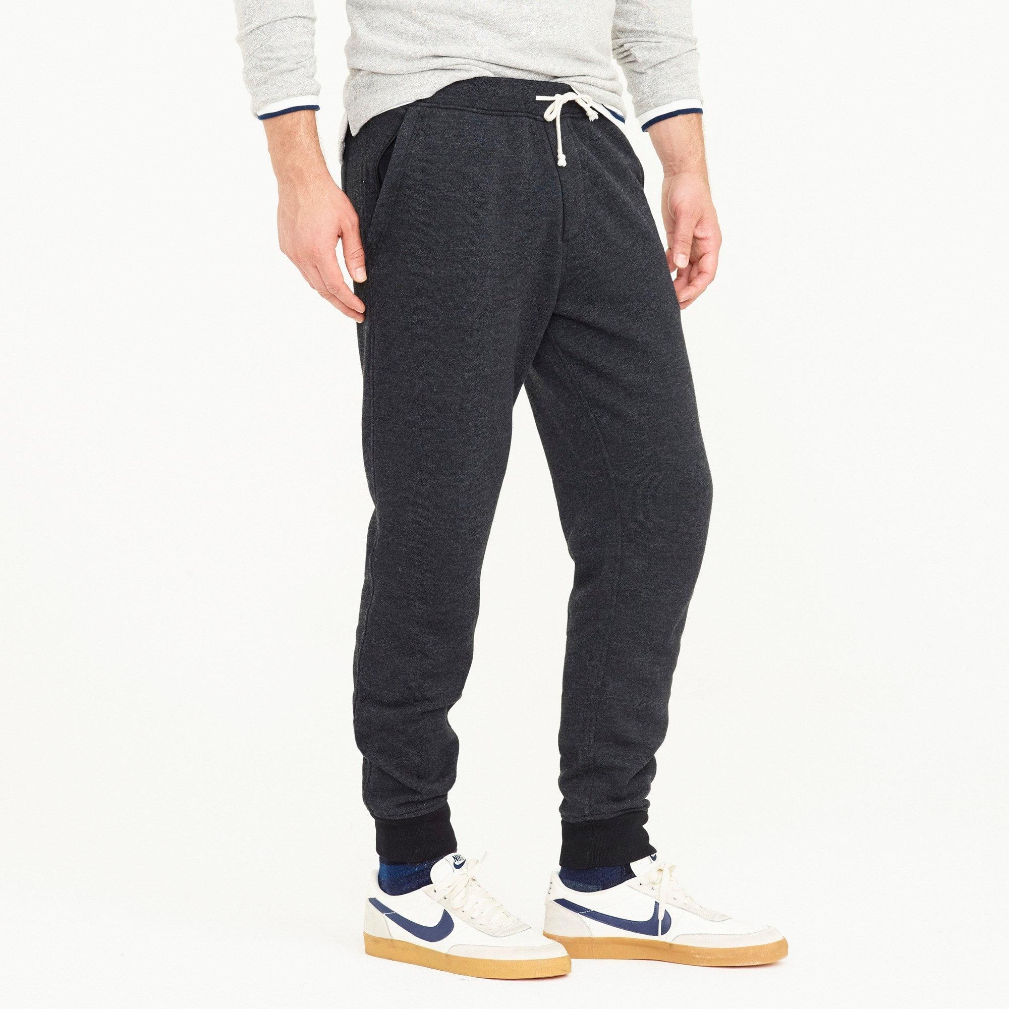 Image 3 for Slim classic zip-pocket sweatpant