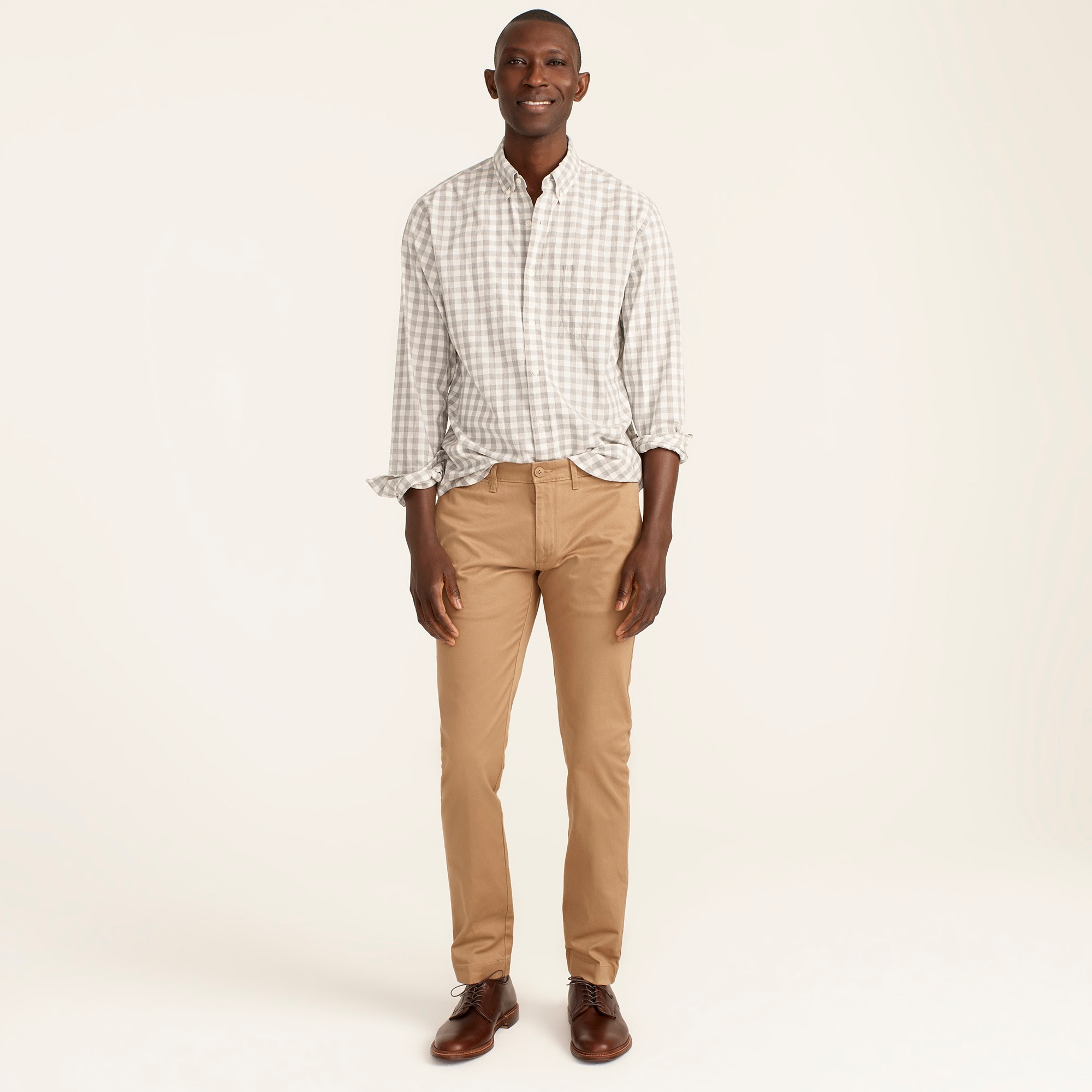 484 Slim-fit pant in stretch chino
