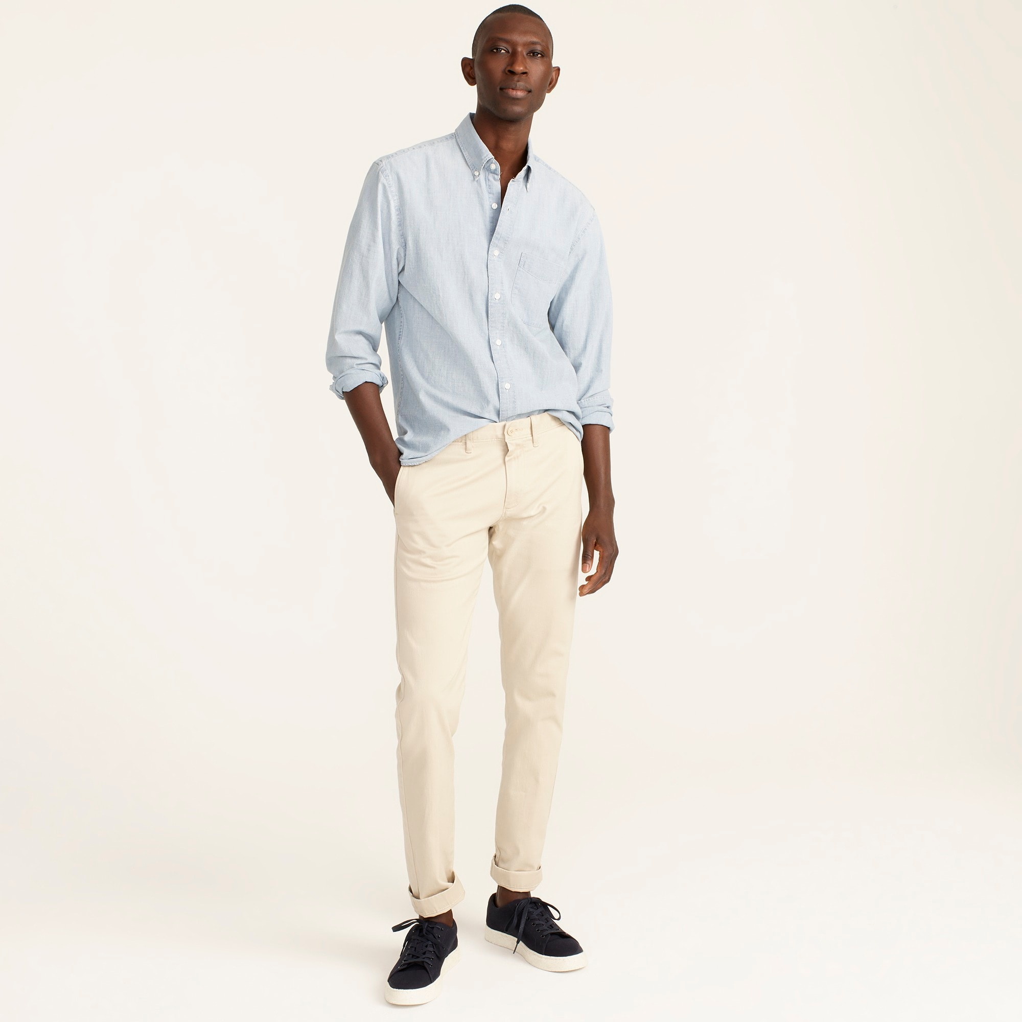 mens 484 Slim-fit pant in stretch chino