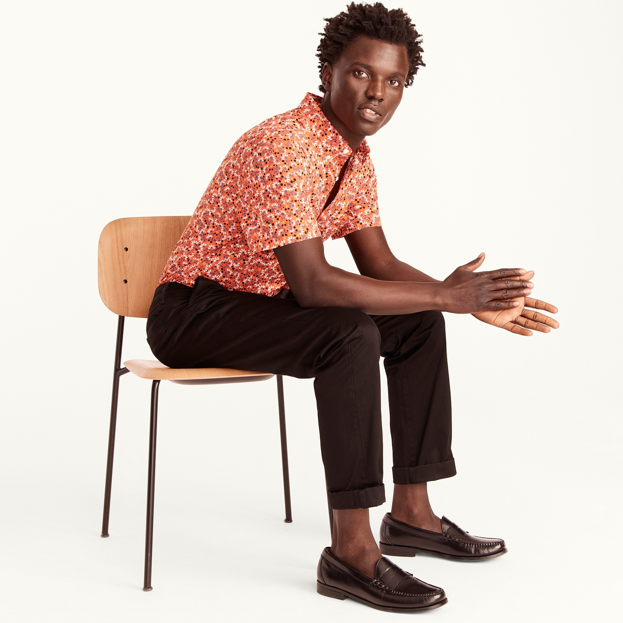 mens 770 Straight-fit pant in stretch chino