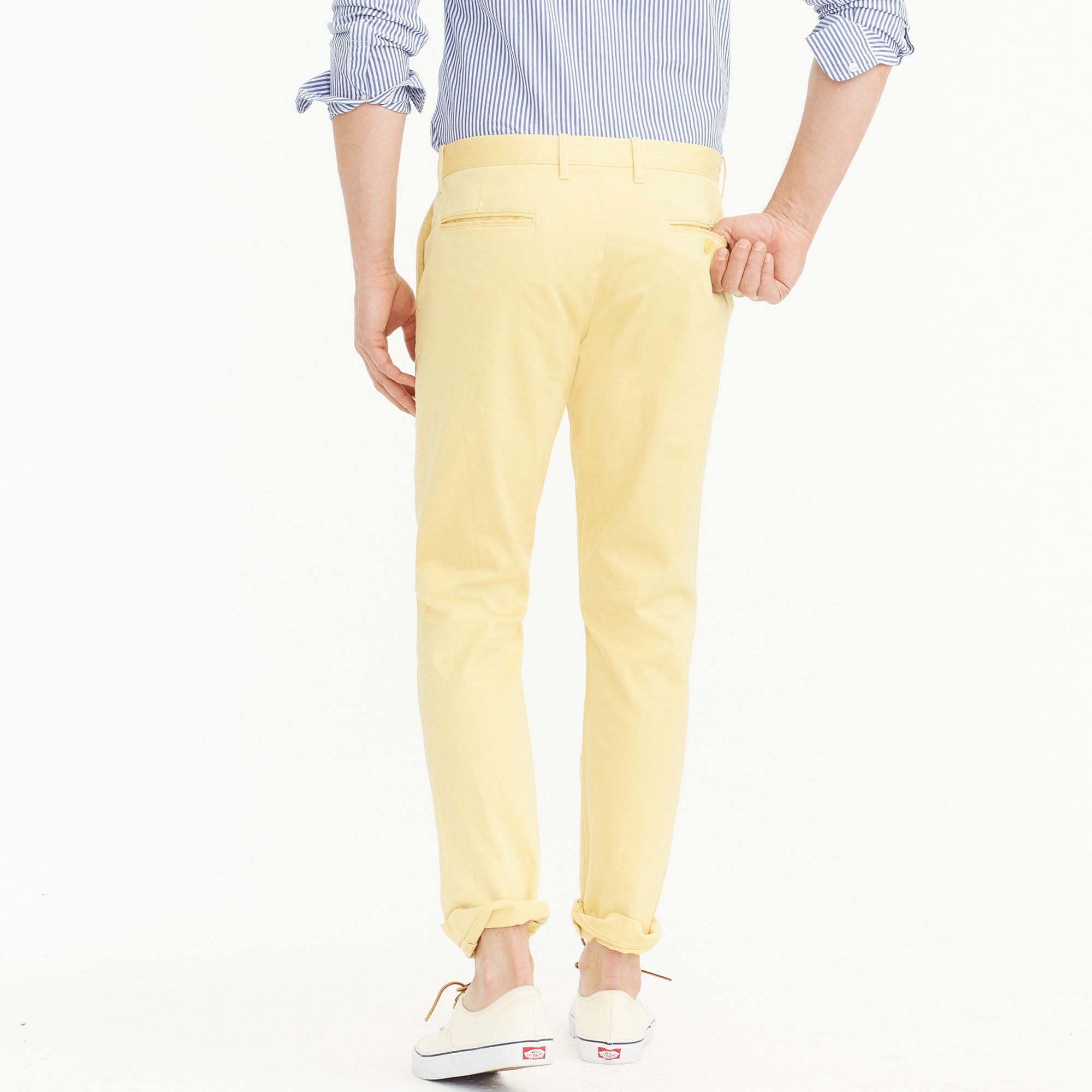 770 Straight-fit pant in stretch chino