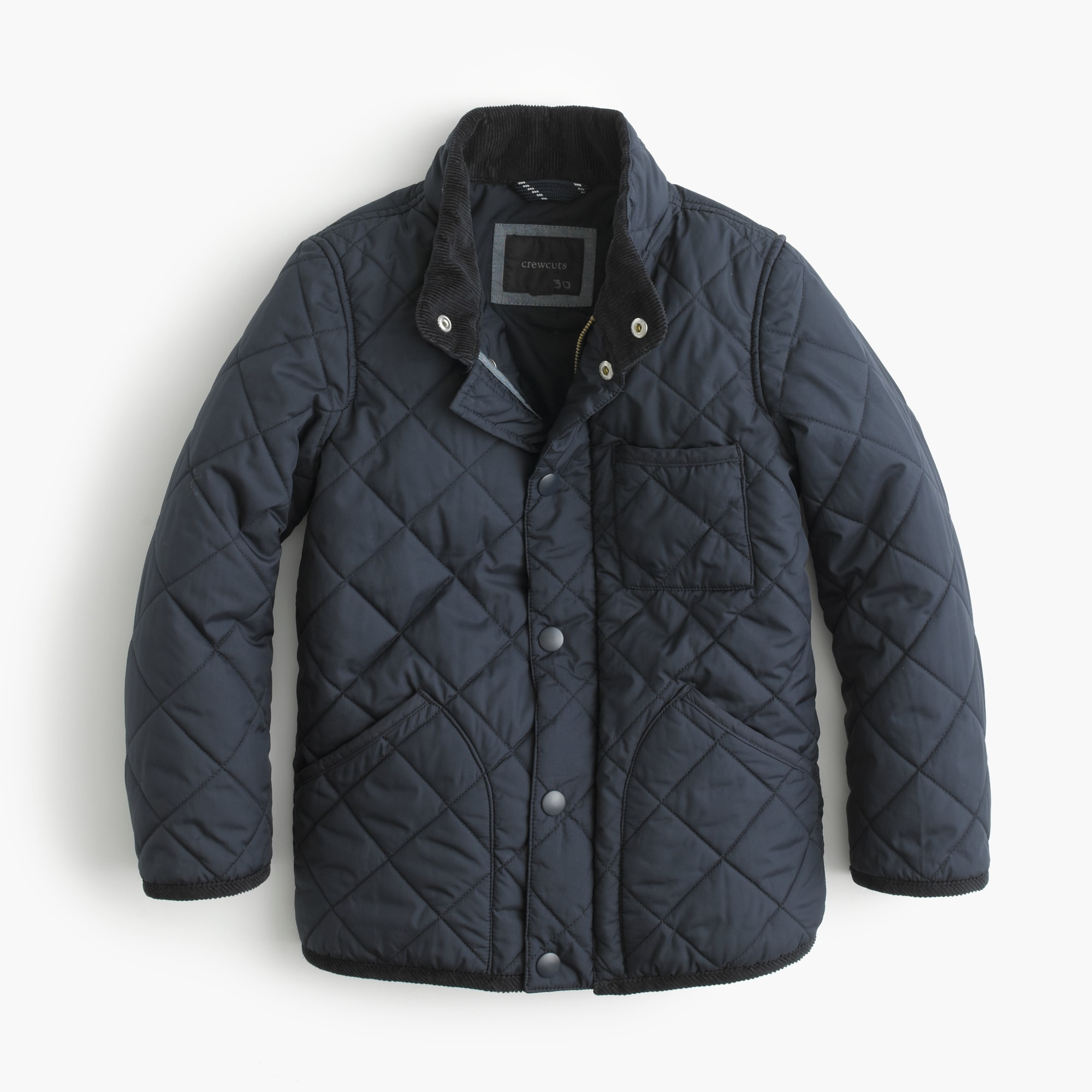 Boys' Sussex quilted jacket