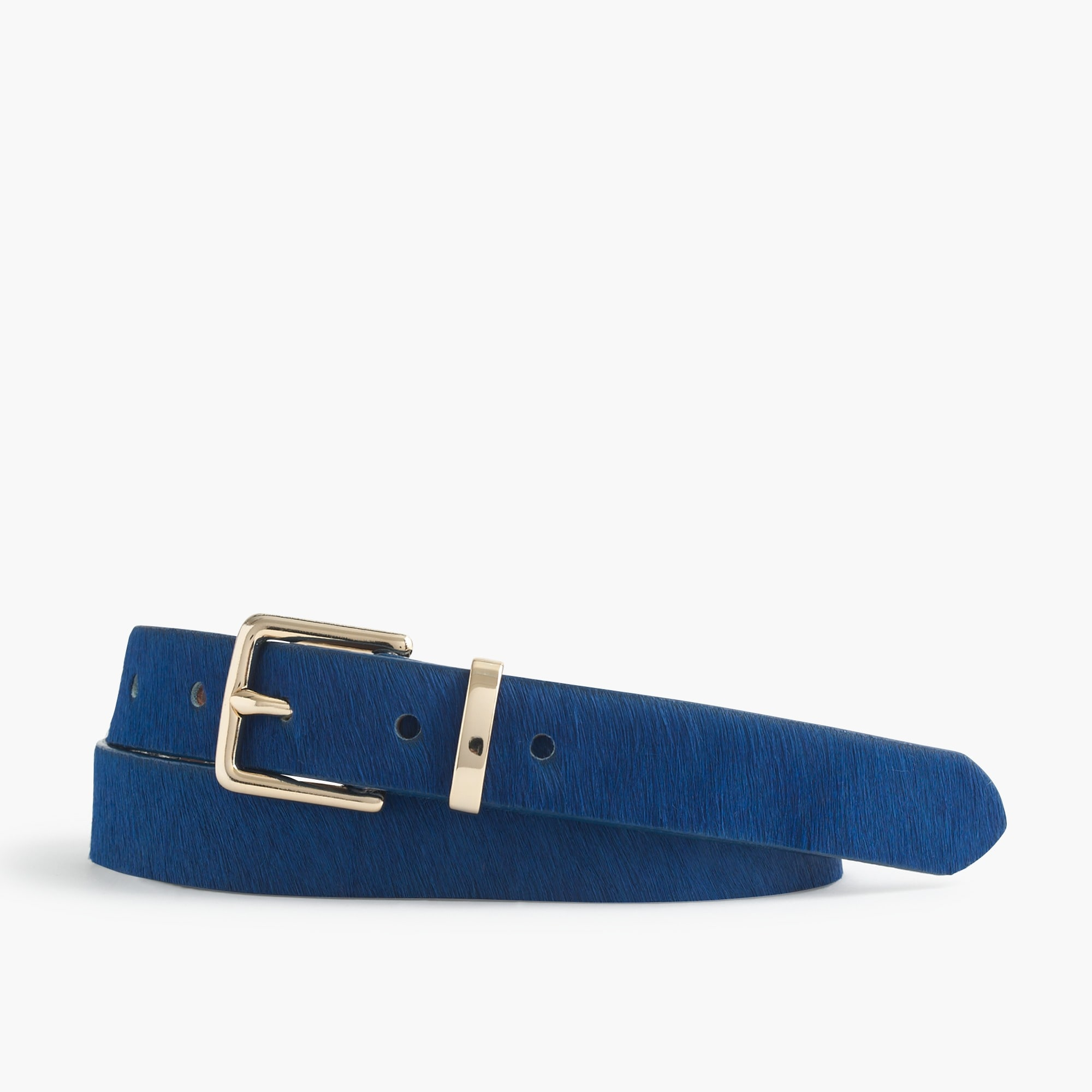 Image 1 for Bright calf hair belt