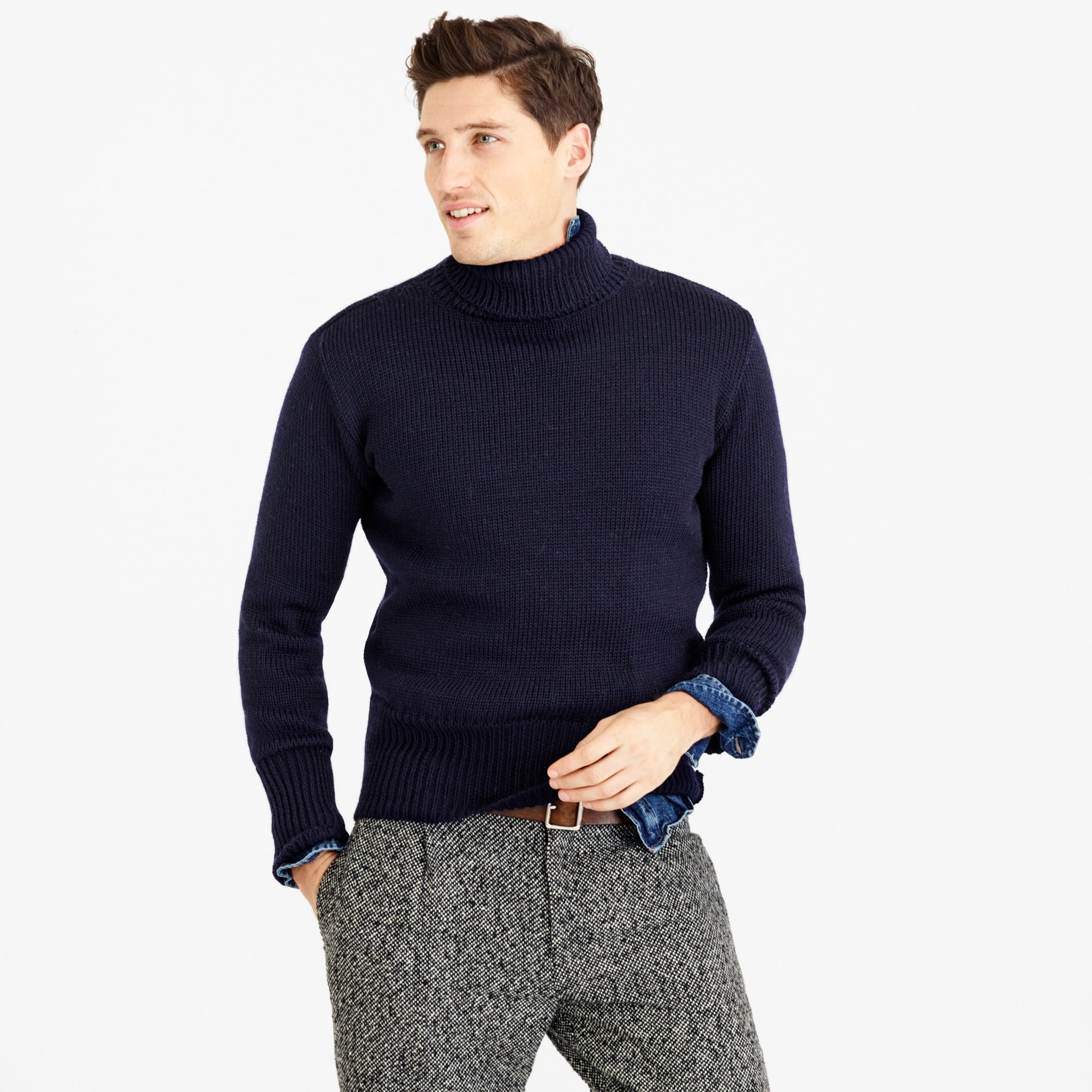 men's north sea clothing diver turtleneck sweater - men's sweaters
