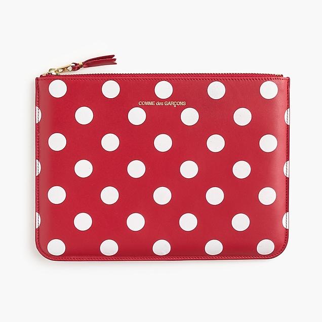 PLAY Comme des Garçons® polka-dot printed pouch