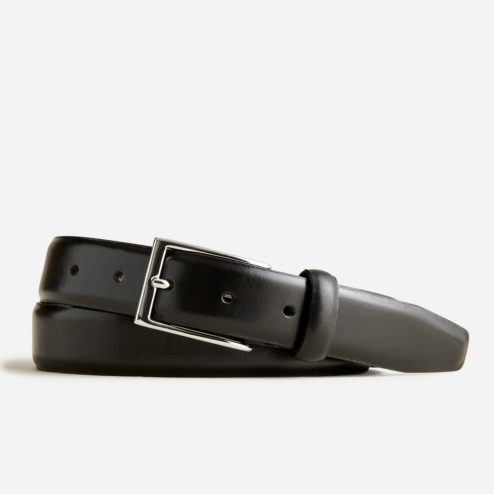 Leather dress belt men accessories c