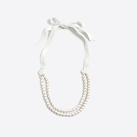 factory girls Girls' pearl necklace