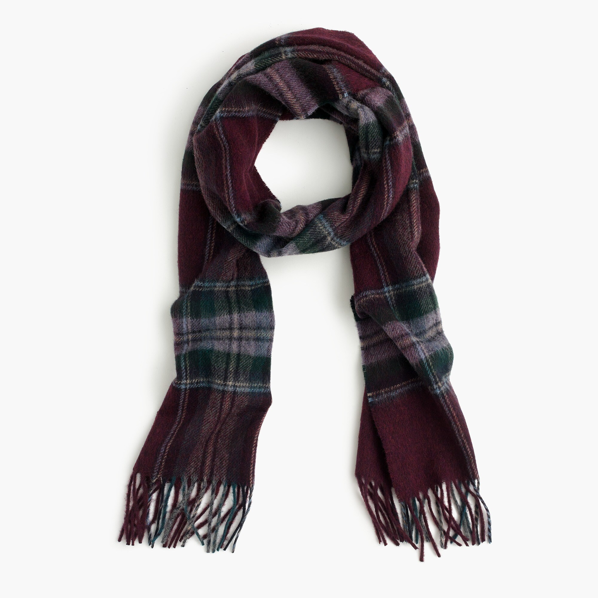 Abraham Moon for J.Crew wool scarf men j.crew in good company c