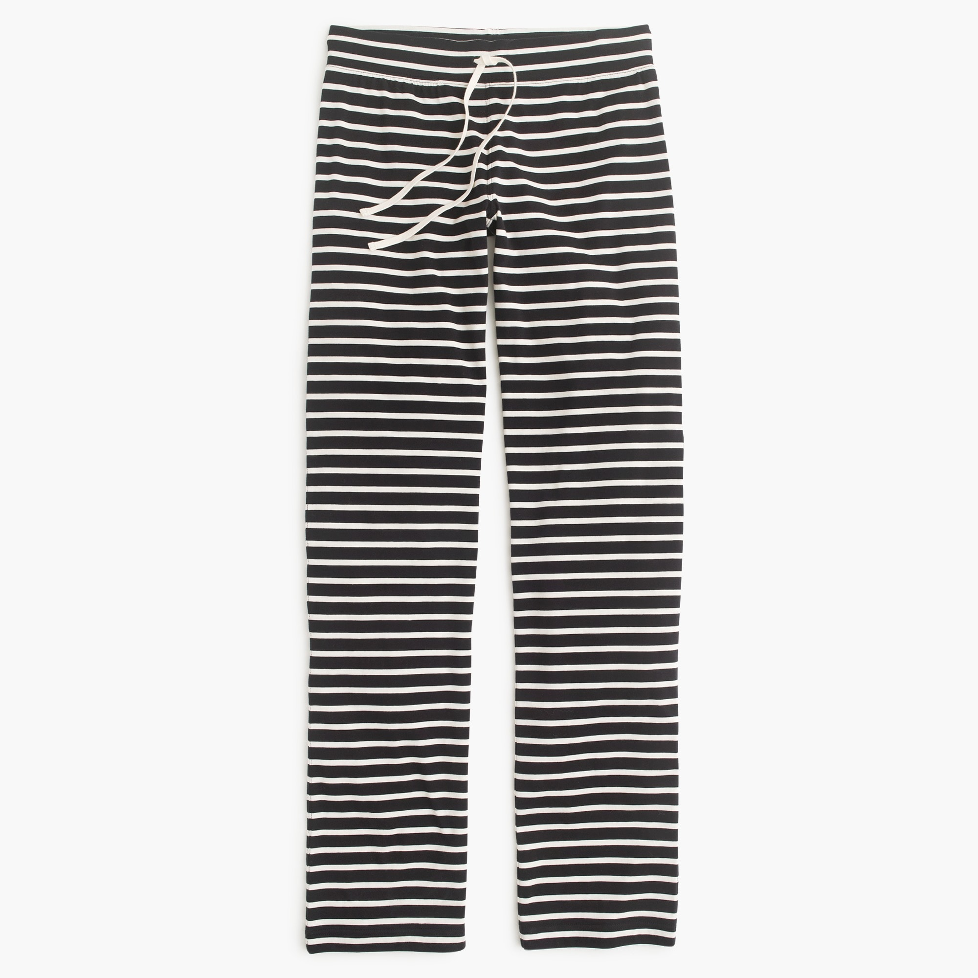 women's petite dreamy cotton pant in stripe - women's lounge