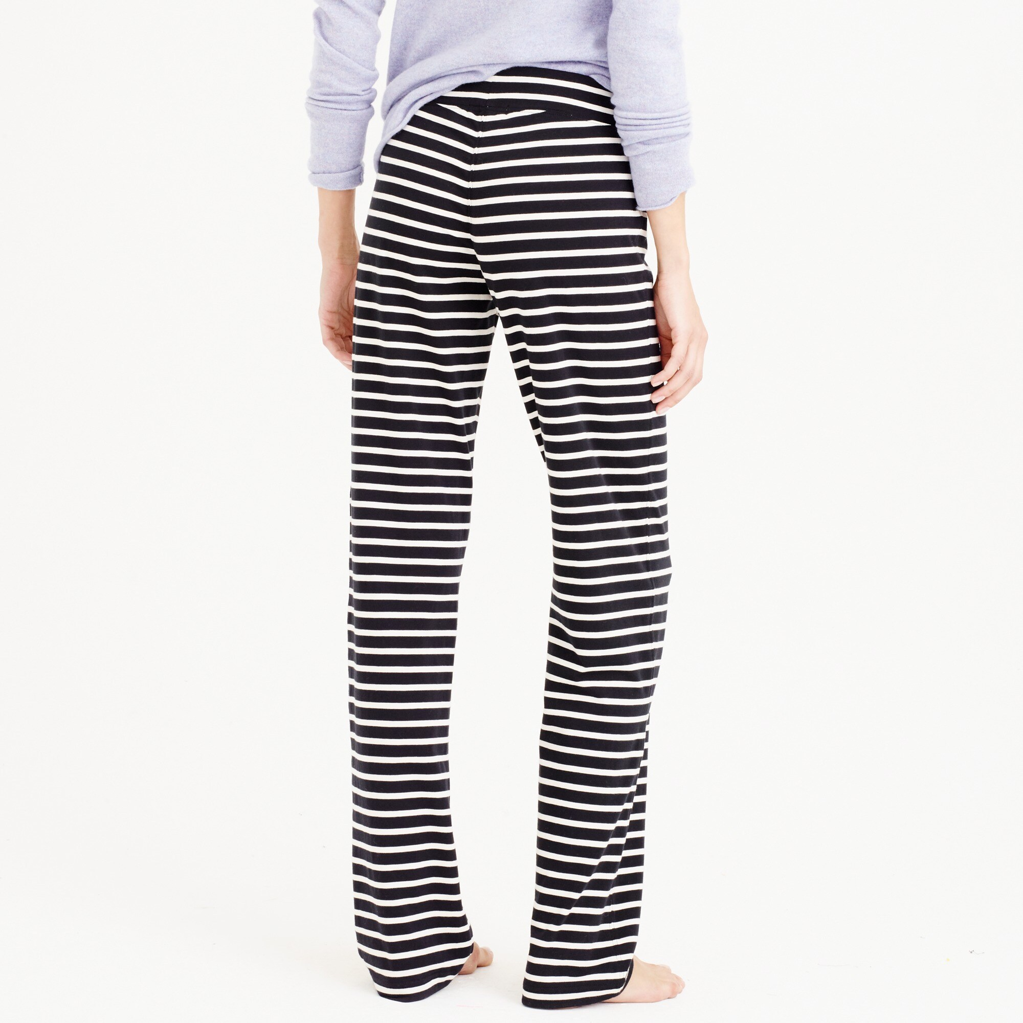 Image 3 for Petite dreamy cotton pant in stripe