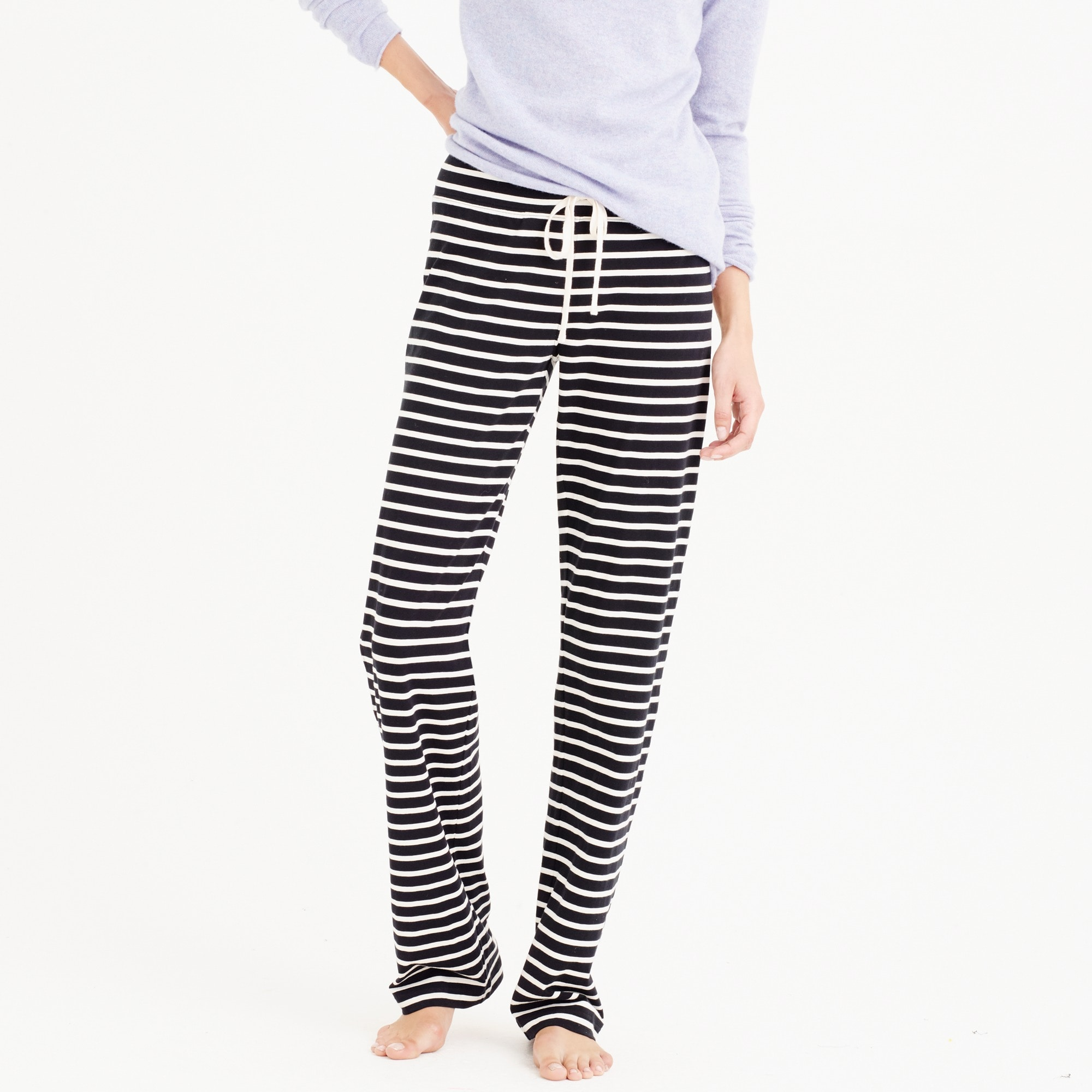 Dreamy cotton pant in stripe women sweatshirts & sweatpants c