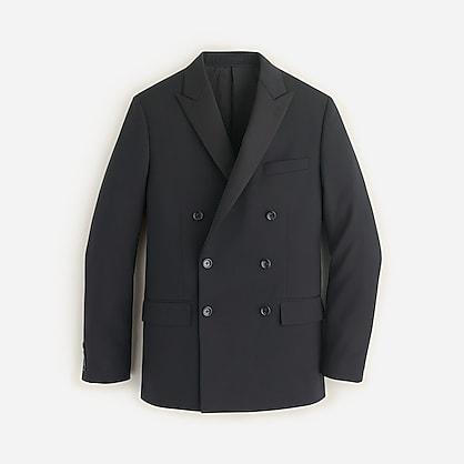 Ludlow double-breasted tuxedo jacket in Italian wool